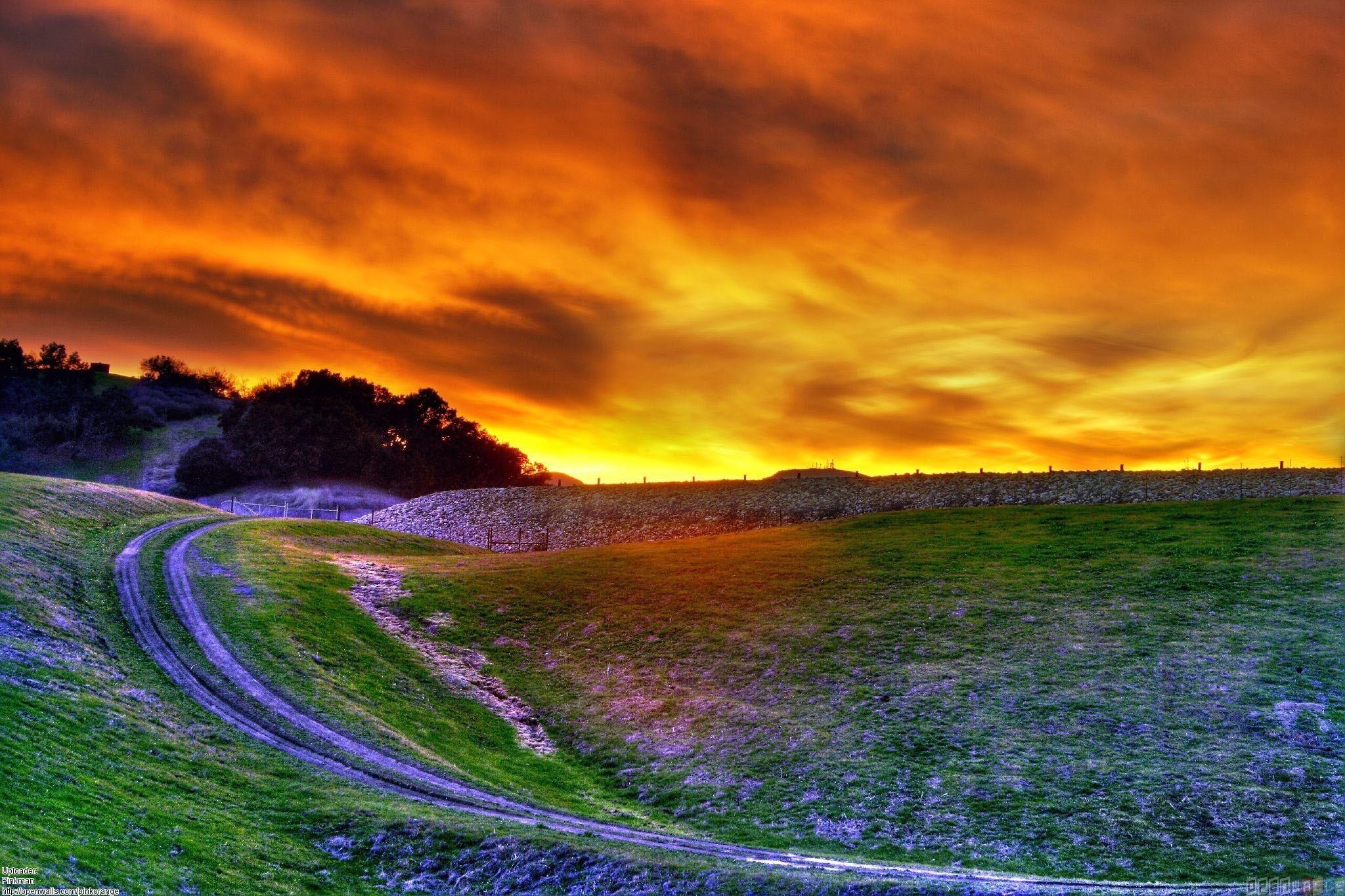 Pretty sunset wallpaper #25648 – Open Walls