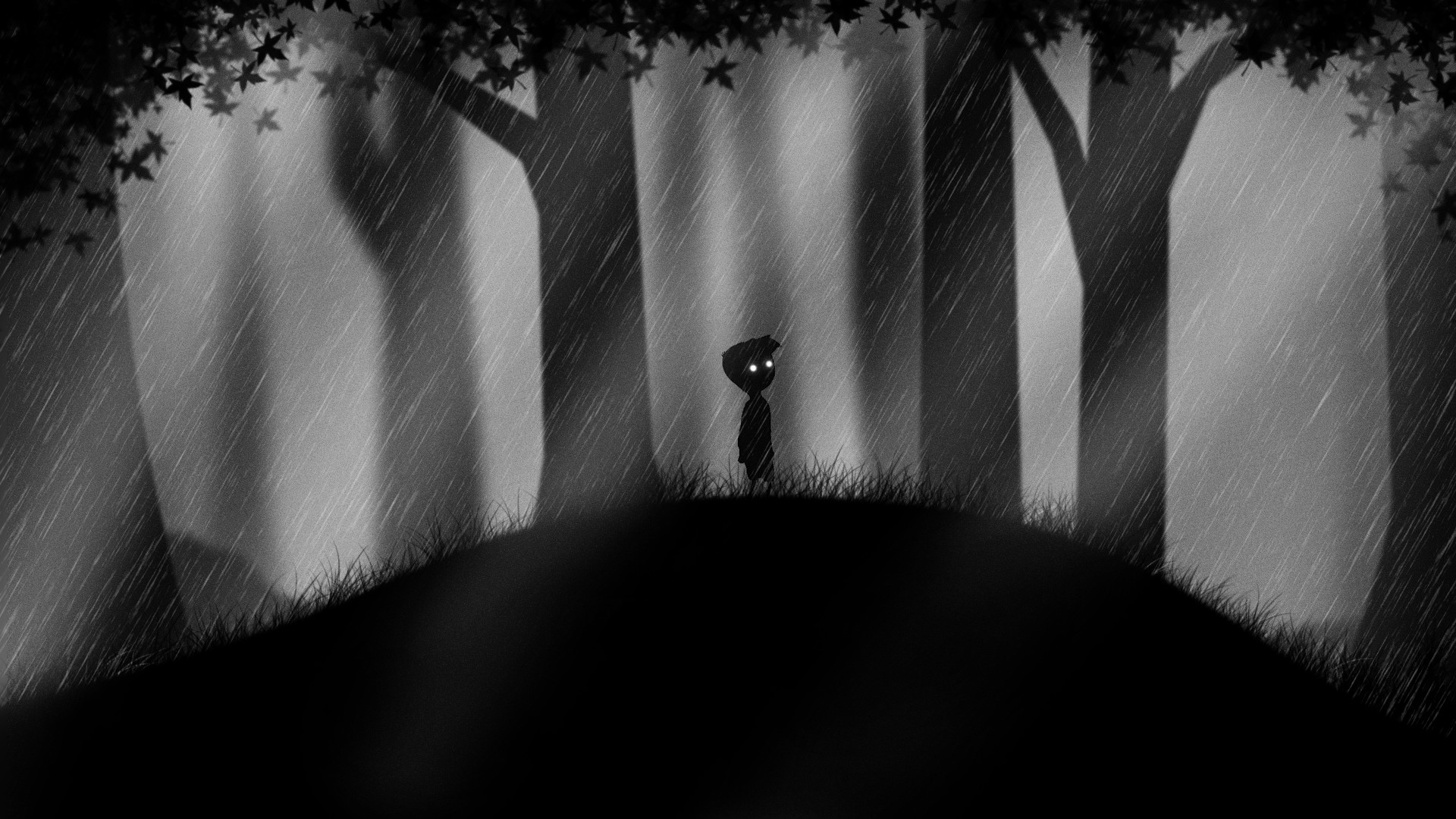 … Limbo Wallpaper [Rainy Forest] [FanArt] by CIT101