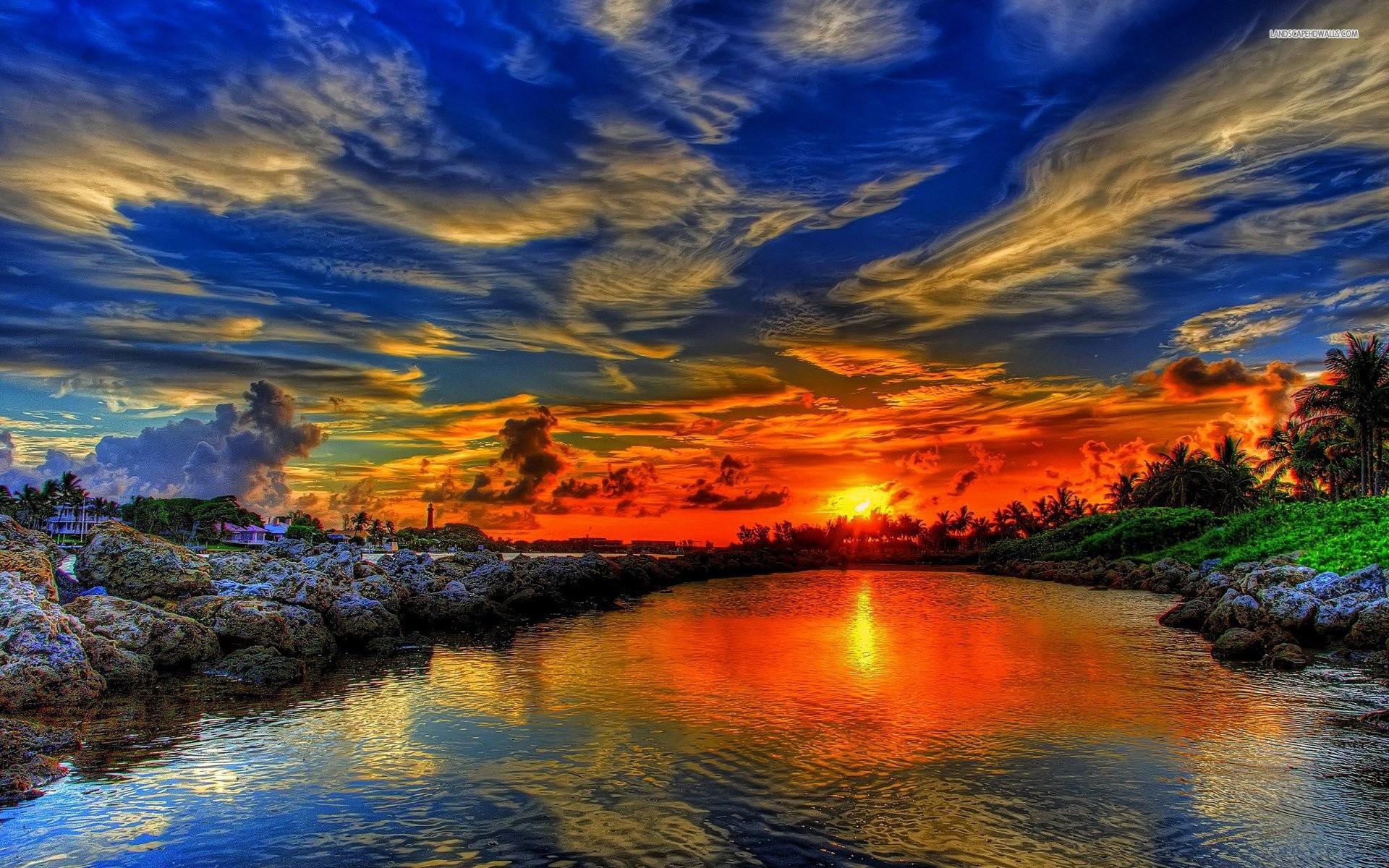 Superb Summer Sunset