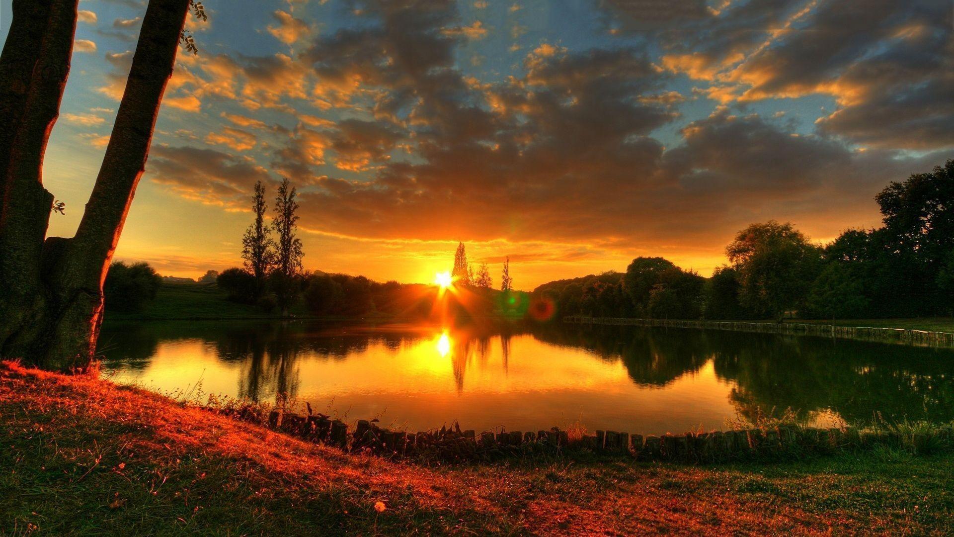 HD Quality Summer Sunset HD Wallpaper 23 Widescreen Full Size .