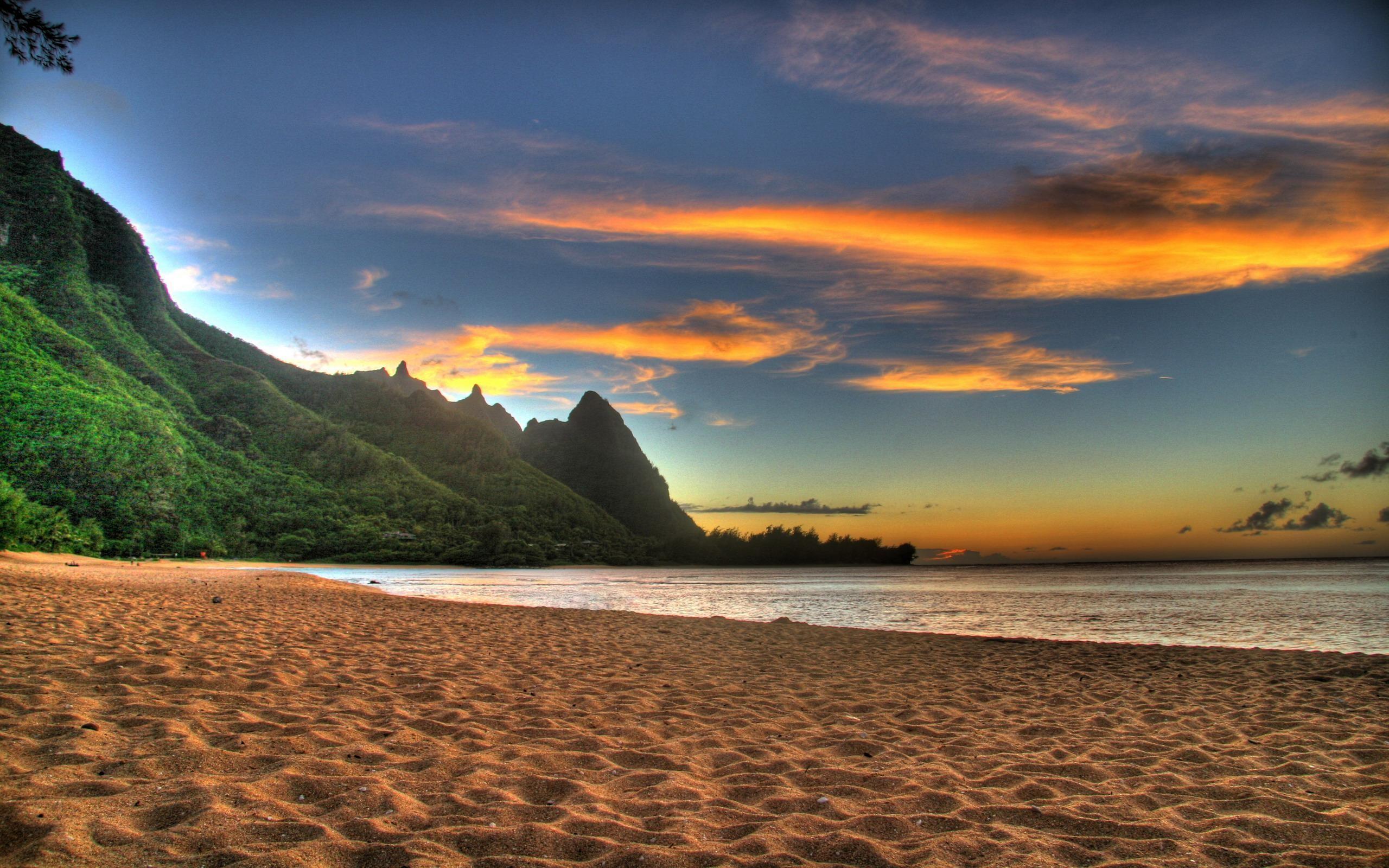 Sunset Beach Desktop Wallpaper – HD Wallpapers 100% High Quality