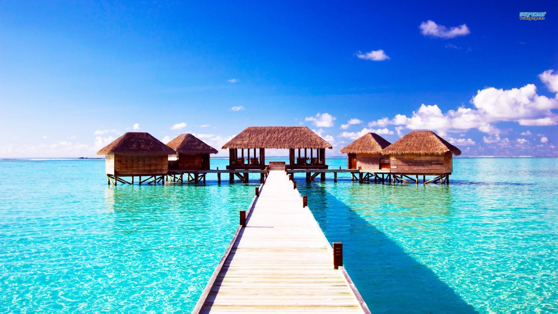 Dimensions:1600×900 1280×720. Cool HD wallpaper – Summer Maldives  Beach …
