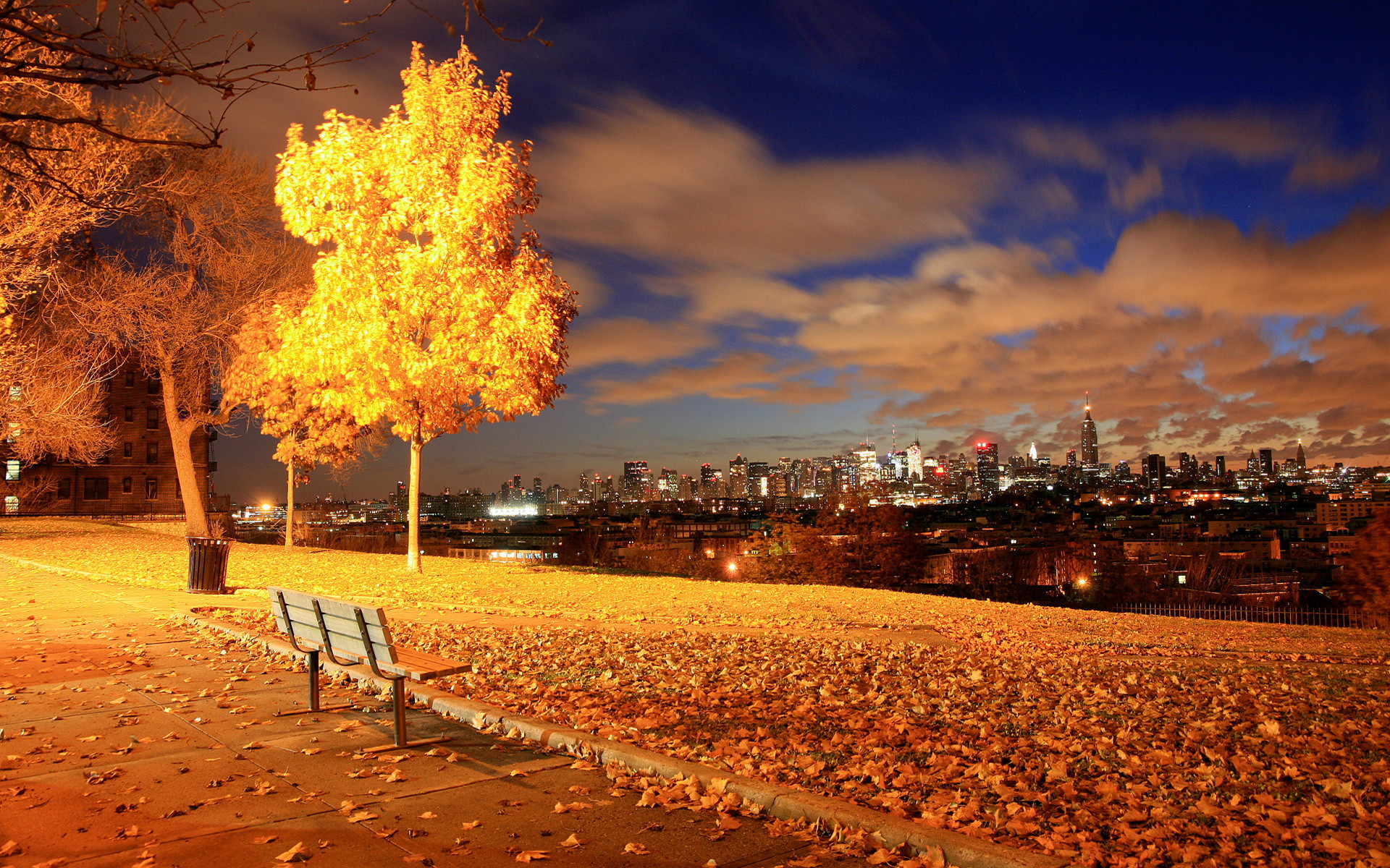 Autumn In NYC Wallpaper .