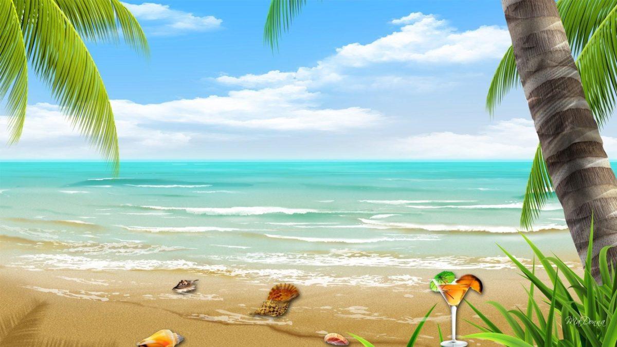 Latest Tropical Beach Backgrounds For Desktop Wallpaper pics