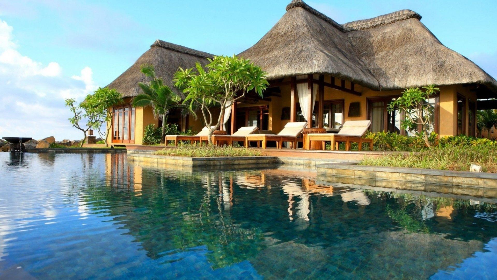 Tropical resort wallpaper #17417