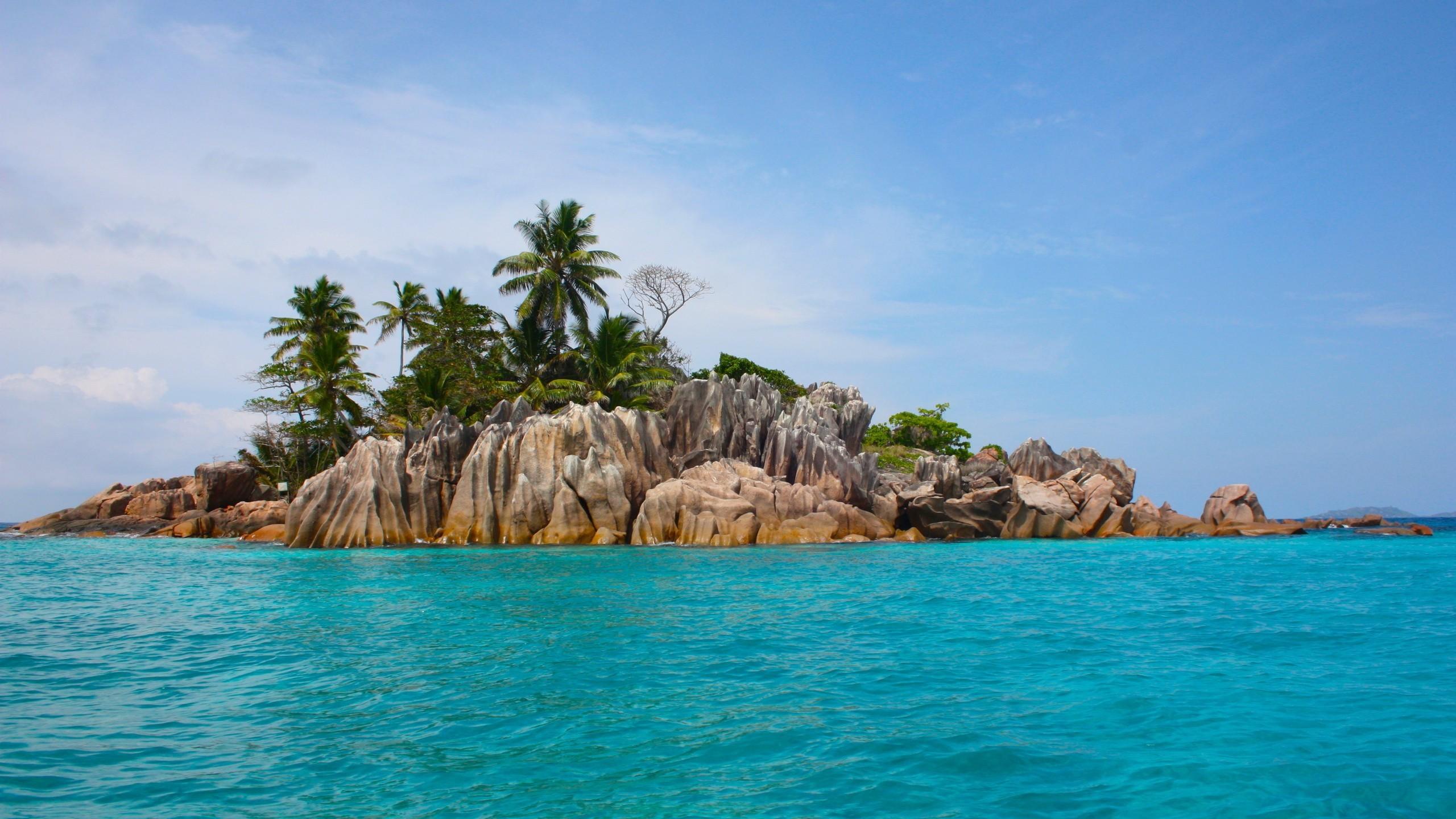 Island Paradise Getaway Remote Blue Ocean Tranquil Tropical Beach Wallpaper  Galaxy S3