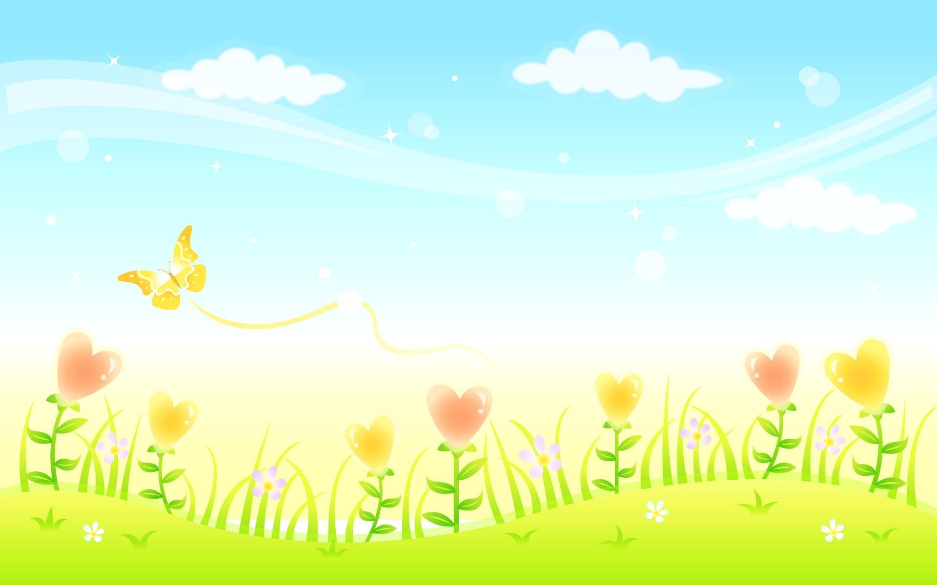 Cartoon Scenery Background 157616 …