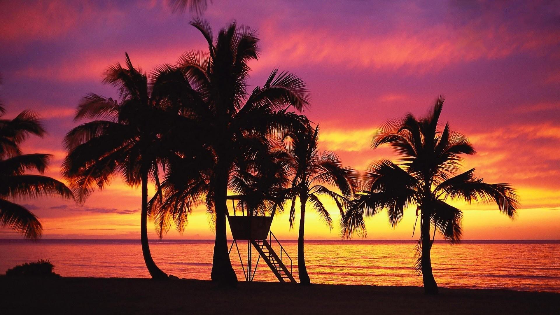 Wallpaper hawaii image sunset fresh images nature.
