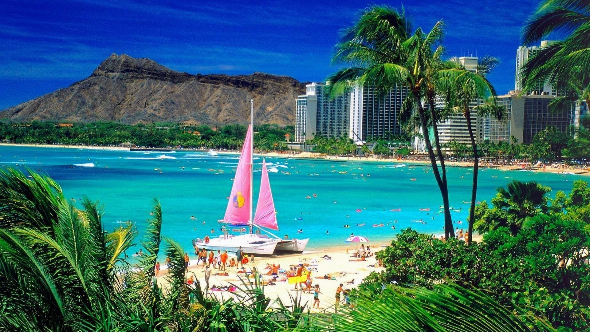 Waikiki-honolulu-hawaii-wide-wallpaper-hd