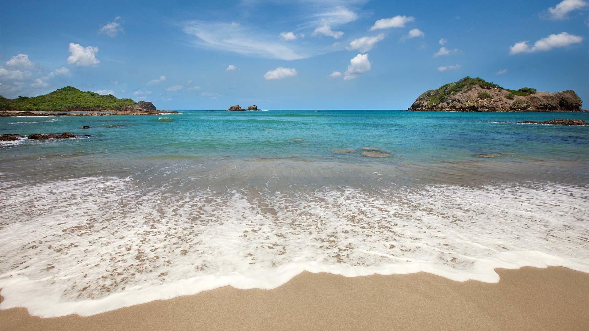 Earth – Beach Horizon Earth Ocean Sea Nicaragua Island Wallpaper