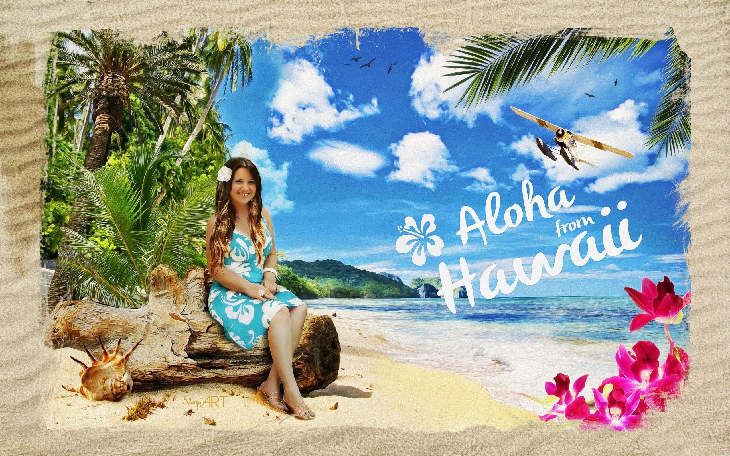 4K HD Wallpaper 2: Graphic Design – Aloha from Hawaii