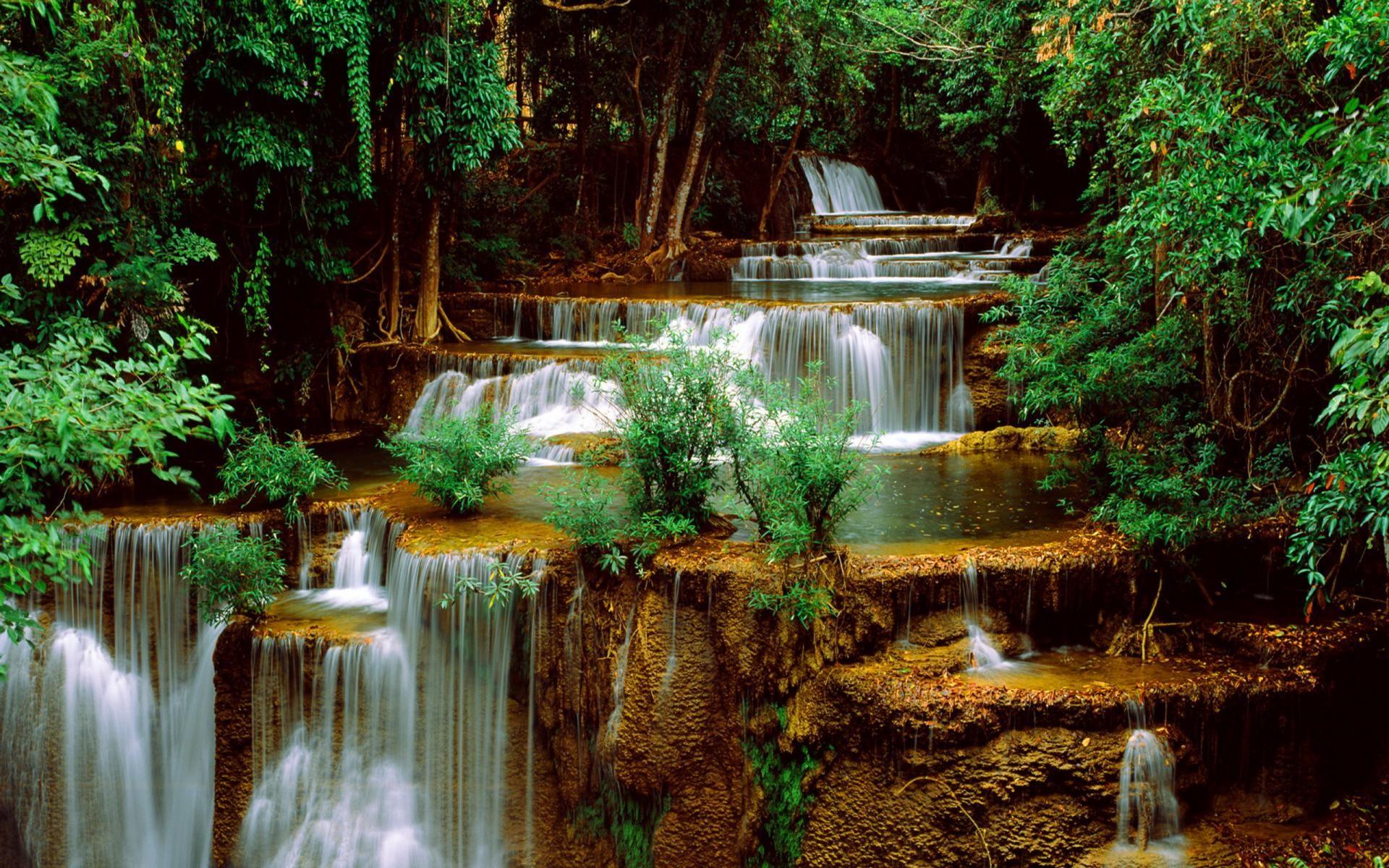 Waterfall Widescreen Wallpaper Desktop Background with High Definition  Wallpaper