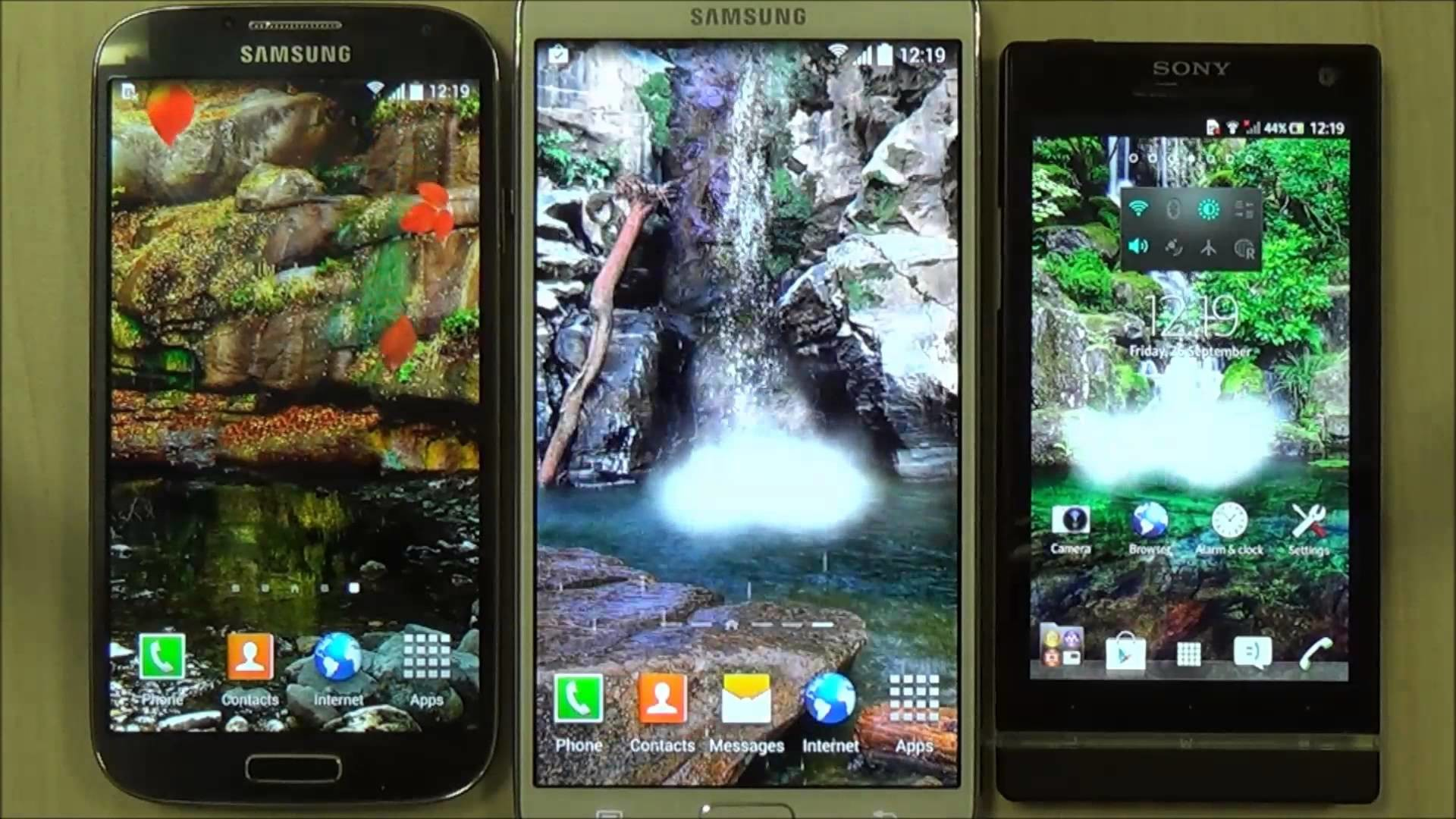 Animated waterfall live wallpaper for android phones and tablets – YouTube