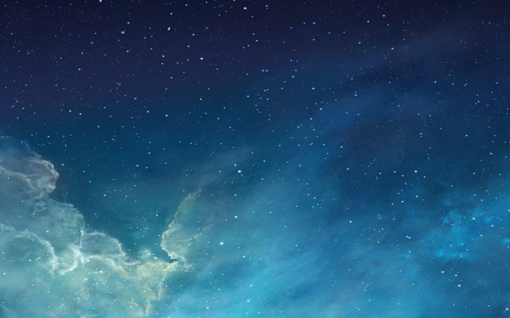 Night Sky with Stars Background