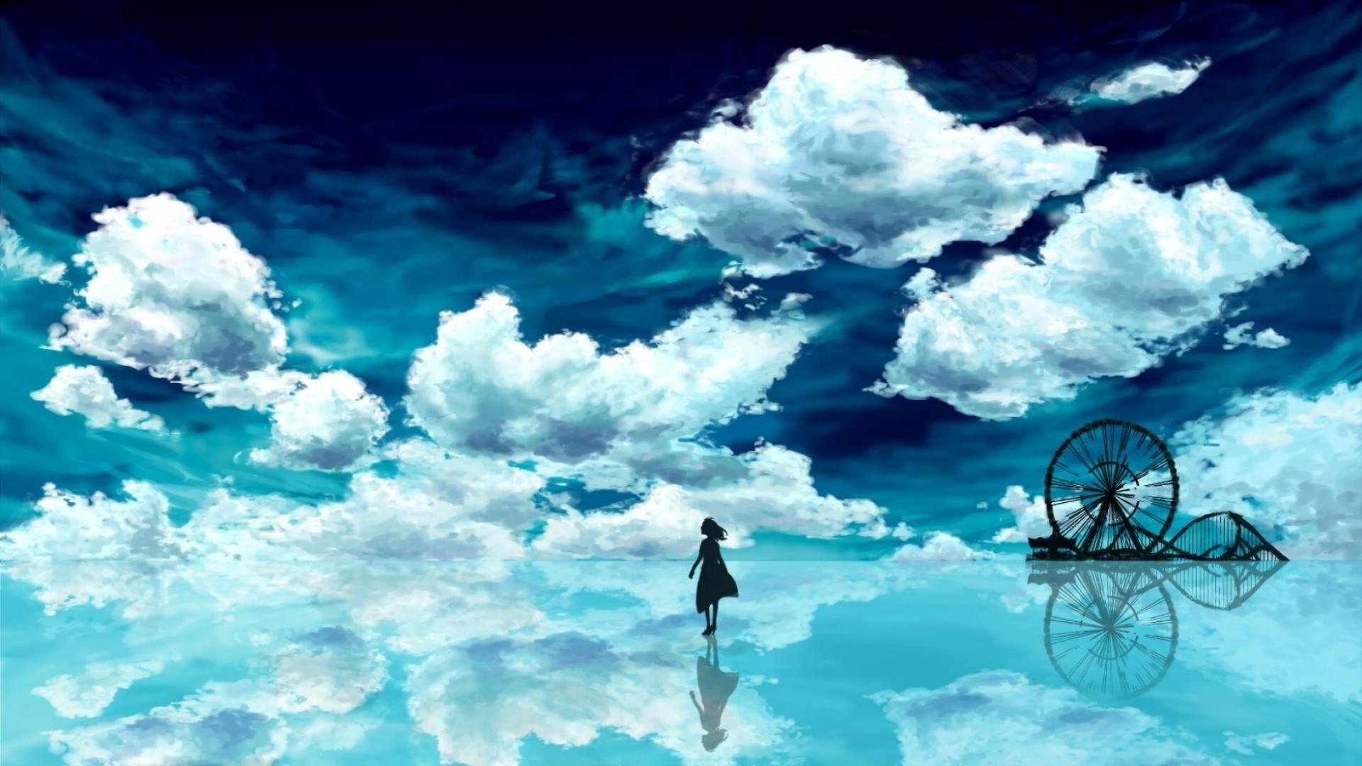 Anime – Sky Anime Wallpaper