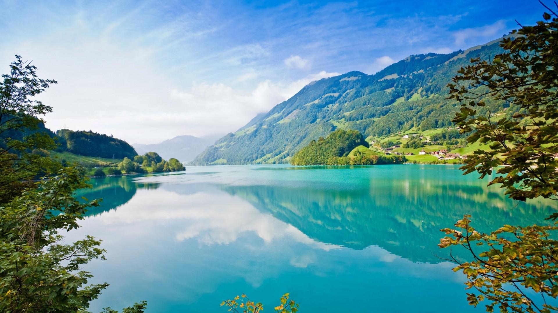 summer_mountains_nature_lake_river_grass