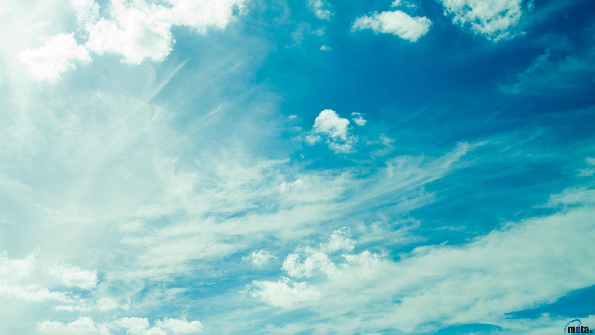 Download Wallpaper Summer sky (1920 x 1080 HDTV 1080p). Desktop .