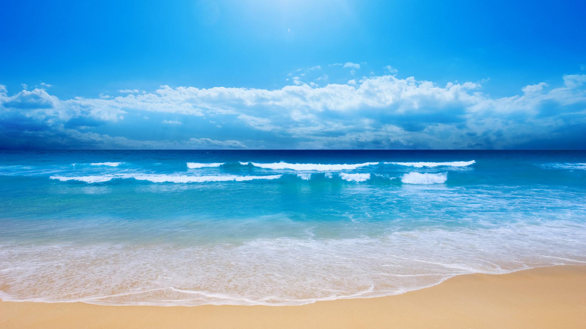 Small Sea Wave HDTV 1080p