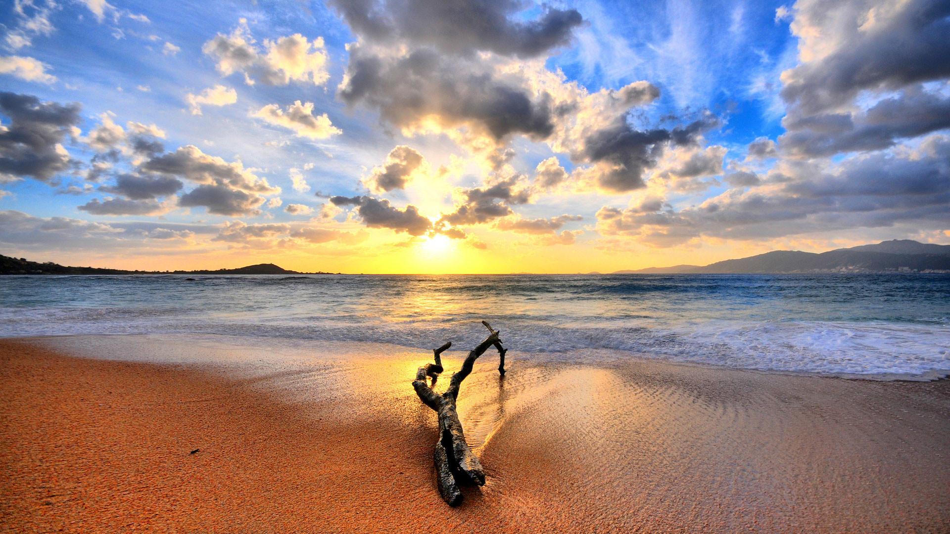 hd pics photos nature beach sky sea shore desktop background wallpaper
