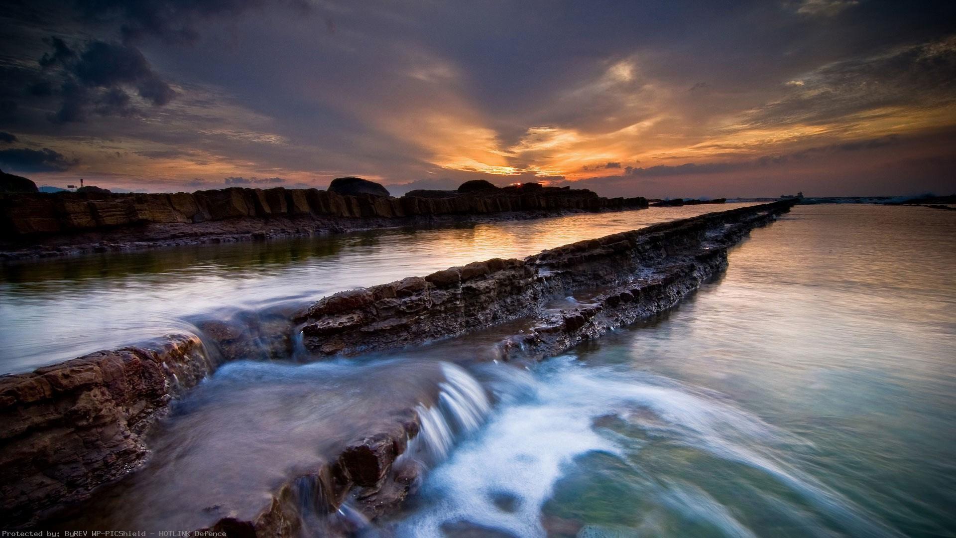 sunset-on-the-beach-hd-1080p-wallpaper-wp80012540