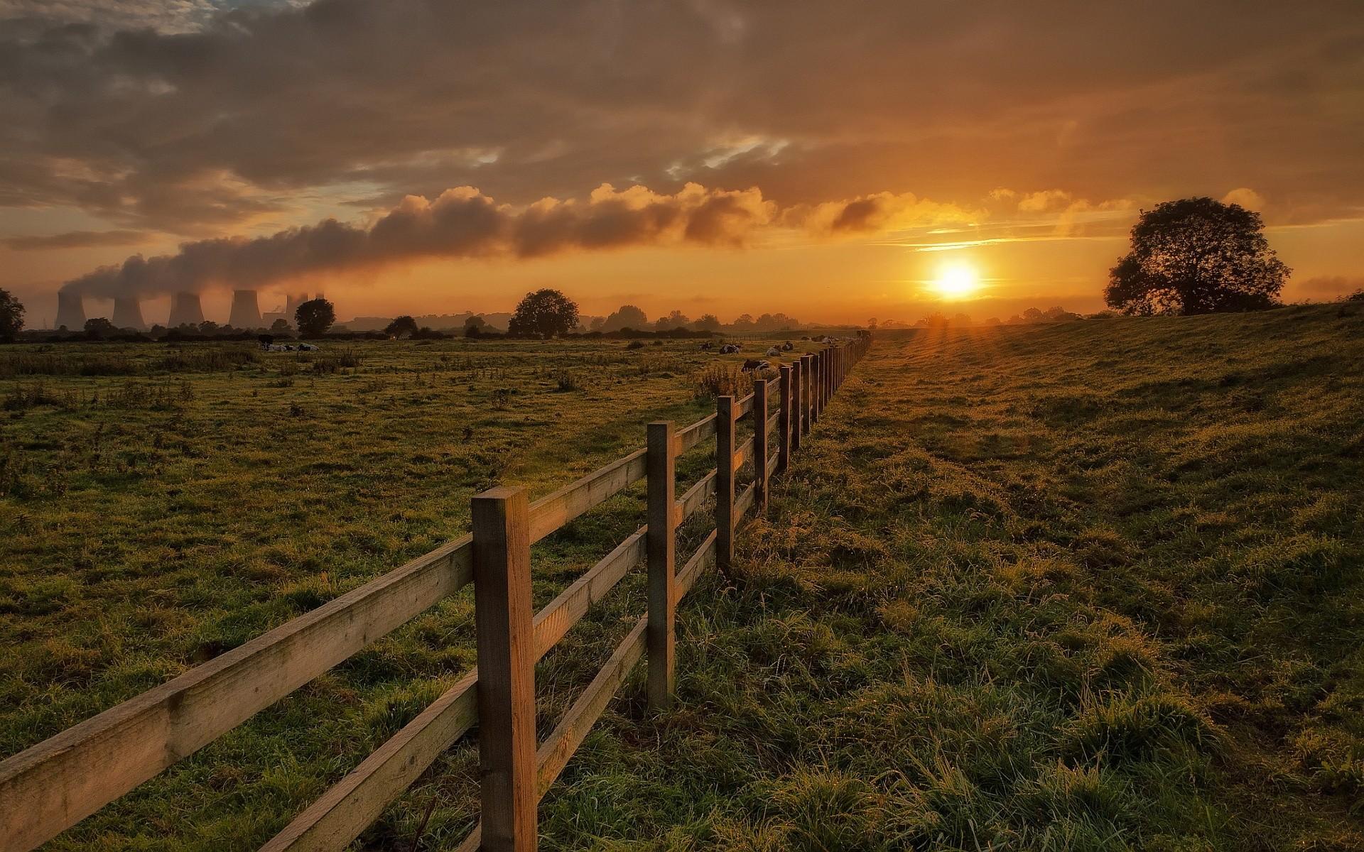 Top Landscape Desktop Backgrounds: Landscape Sunset Background HD .