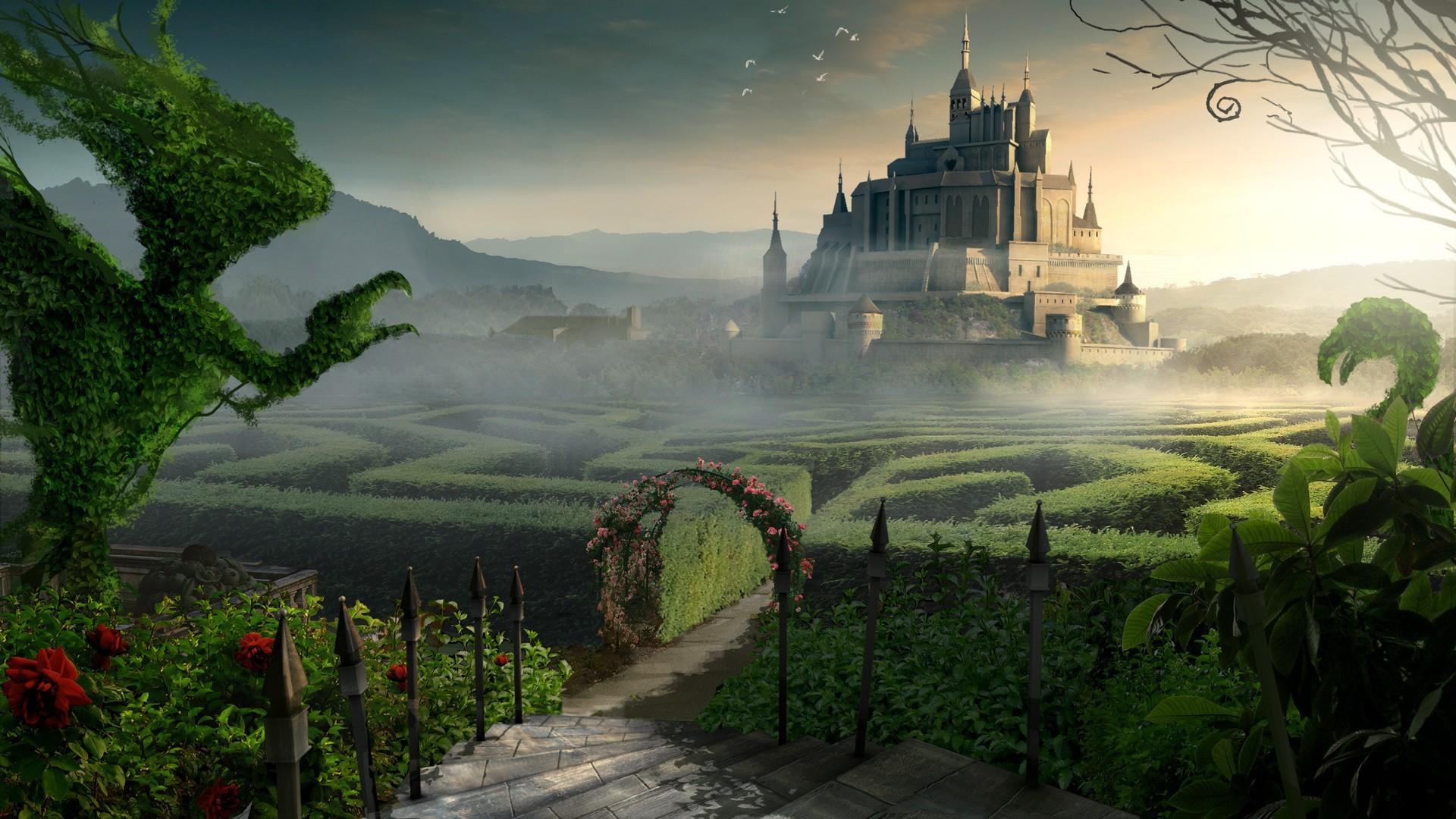 ZO161 Fantasy Landscape Wallpapers, Desktop-Screens.com