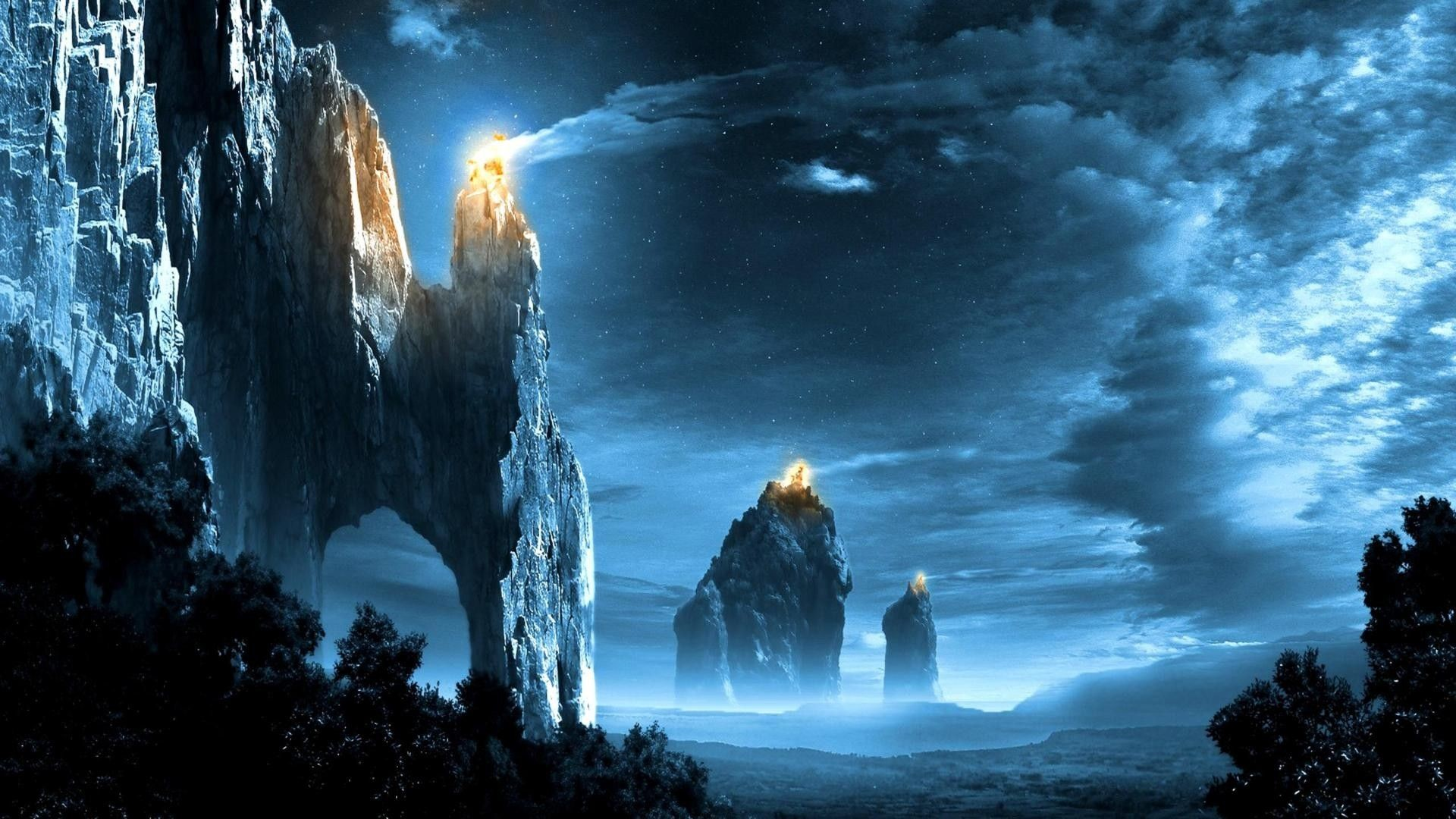 Lord Of The Rings Landscape Wallpapers Desktop