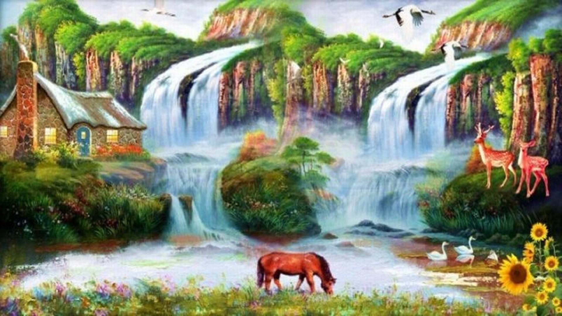 Water Scene Wallpaper Nature scenes Wallpaper and Beautiful