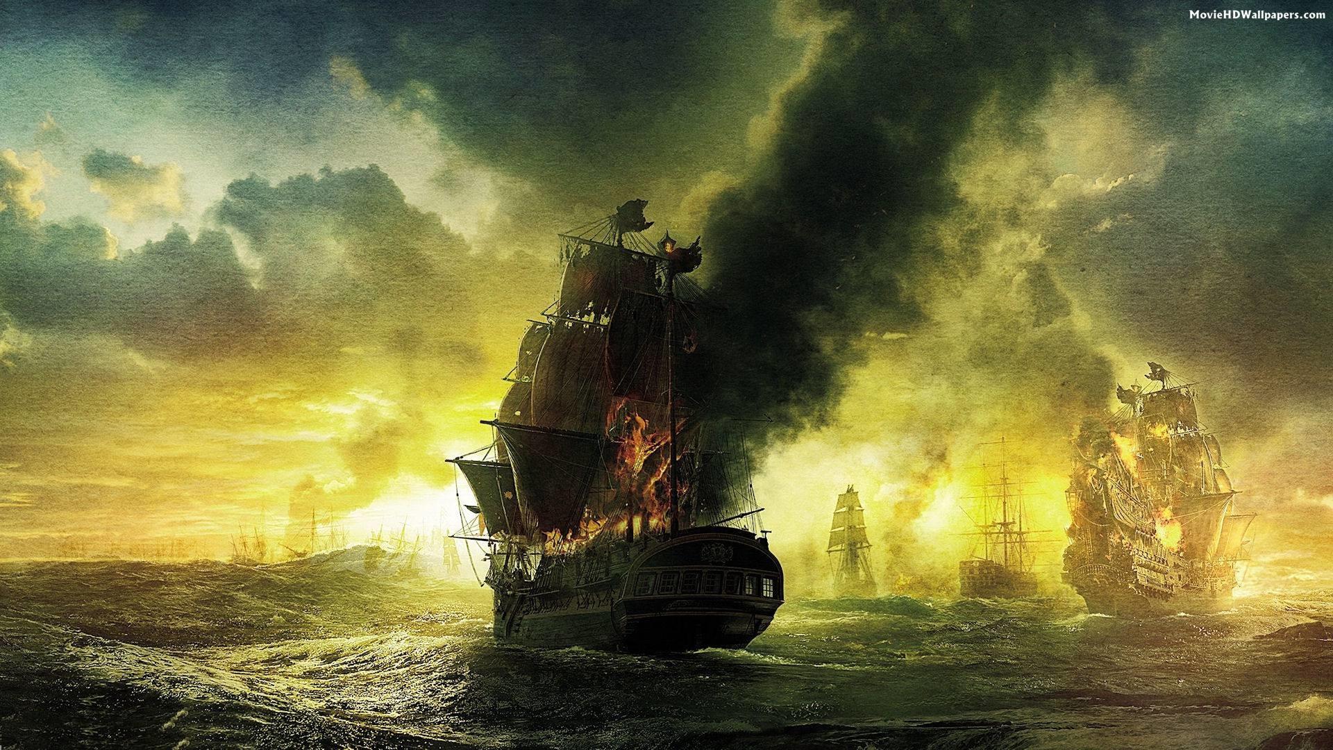 Pirates of the Caribbean On Stranger Tides Ship