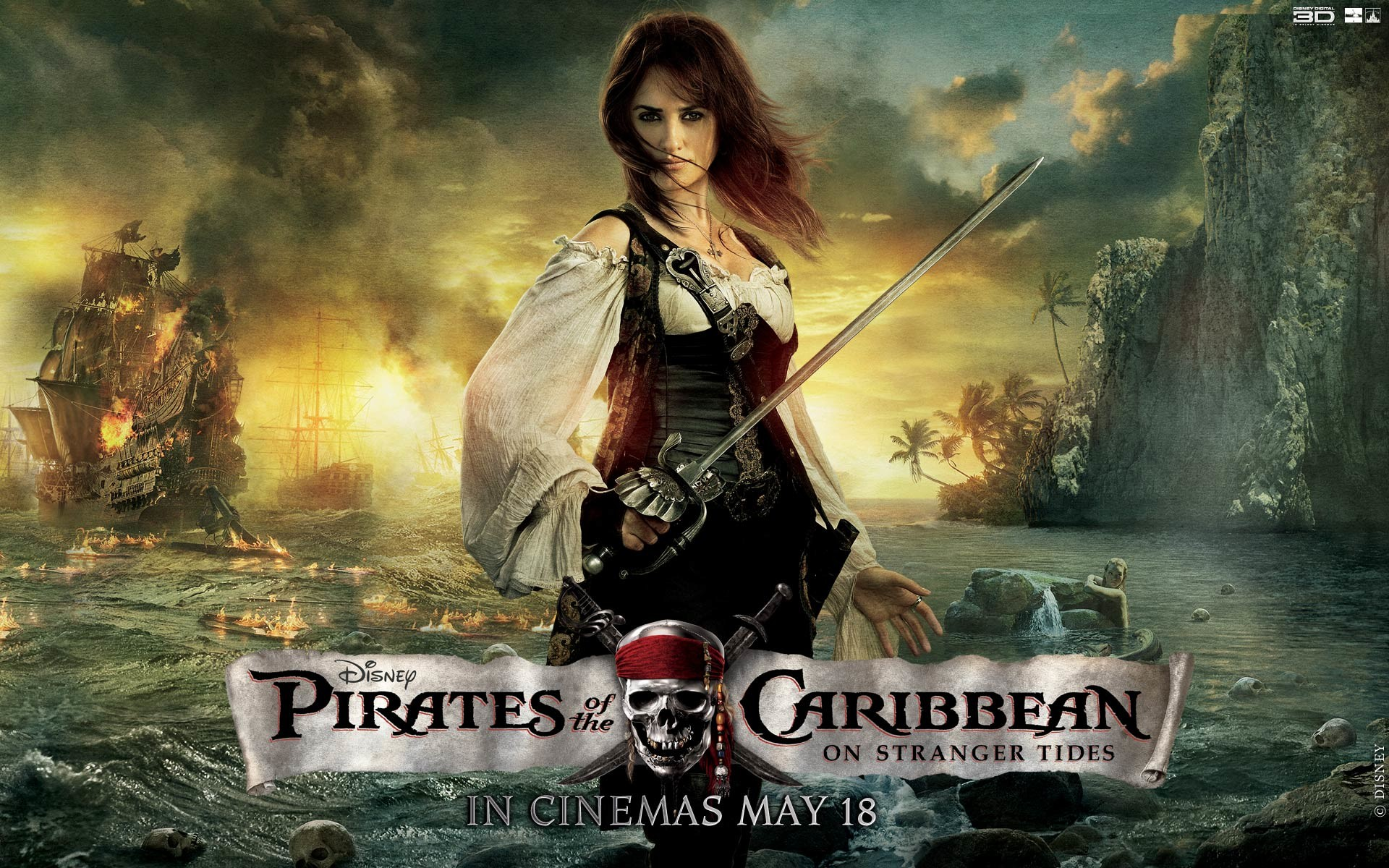 Penelope Cruz Pirates Of The Caribbean Wallpapers | HD Wallpapers