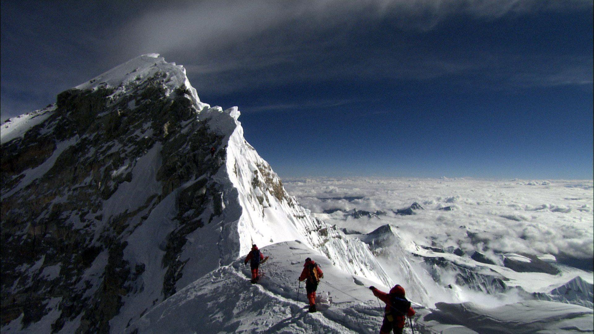 Mount Everest big summit point HD Wallpaper – HD Landscape Wallpaper
