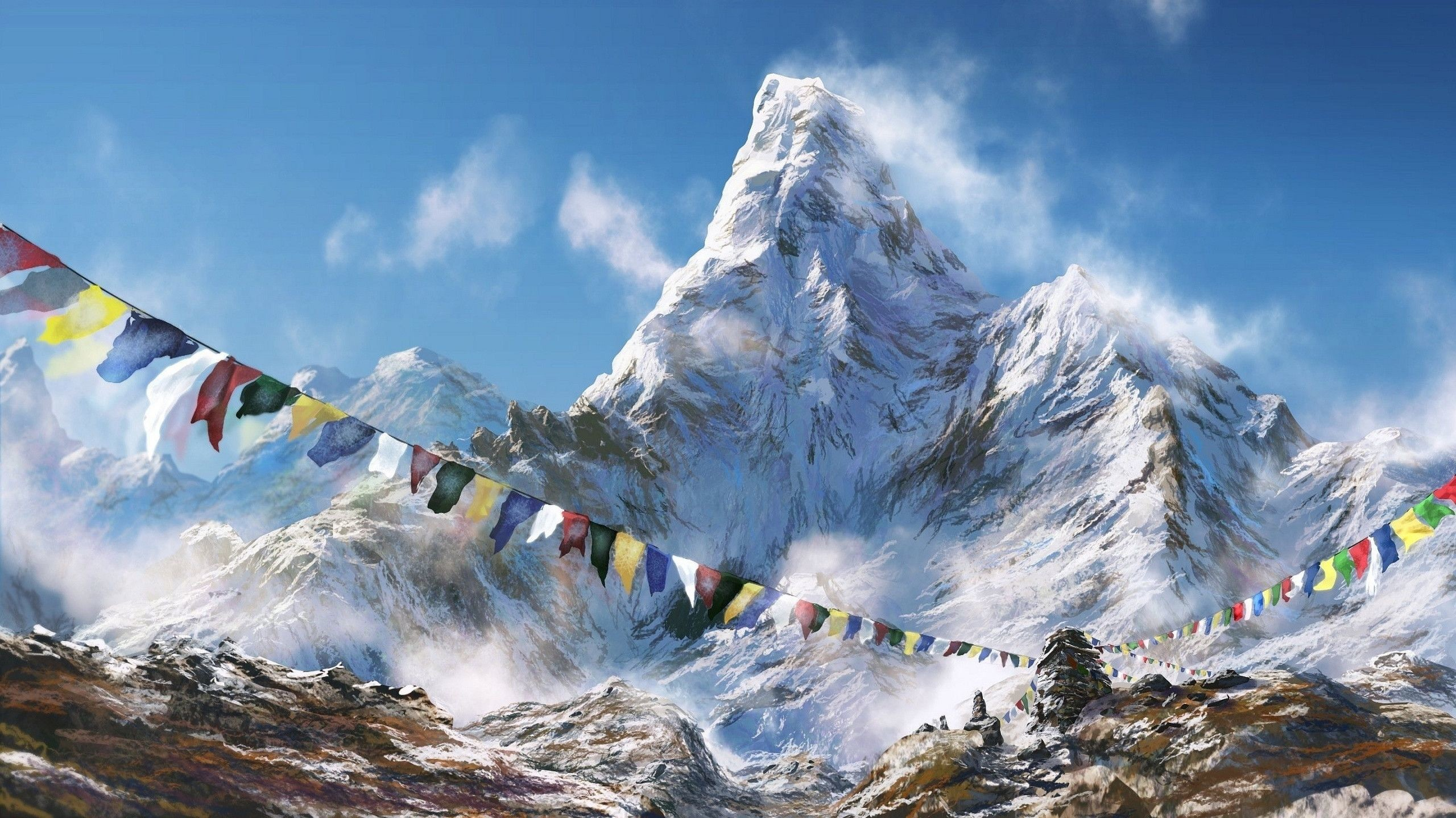 Mount Everest Nepal iPhone wallpapers backgrounds x