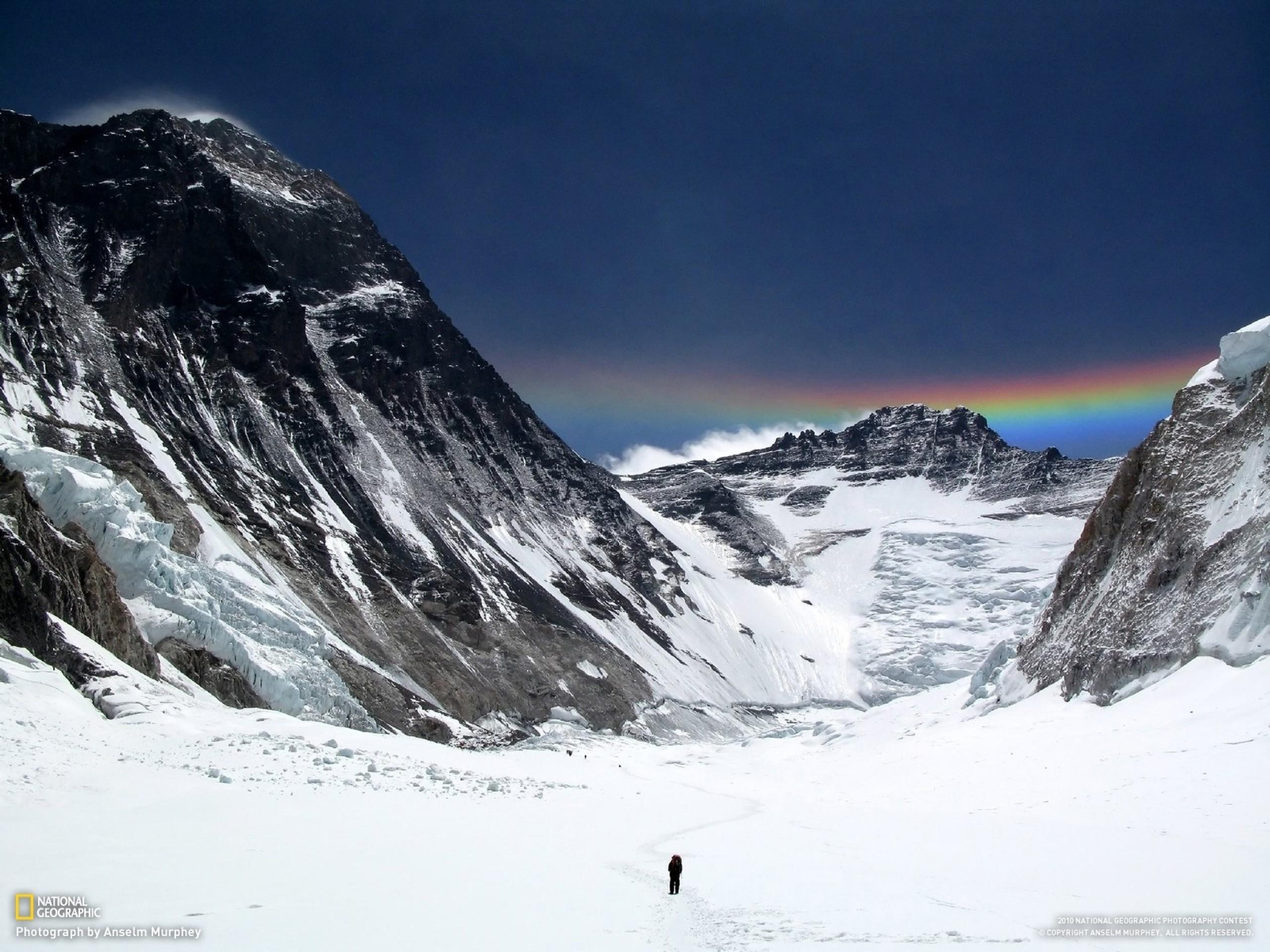 Bild: Mount Everest Menschen & Regenbogen wallpapers and stock photos. Â«