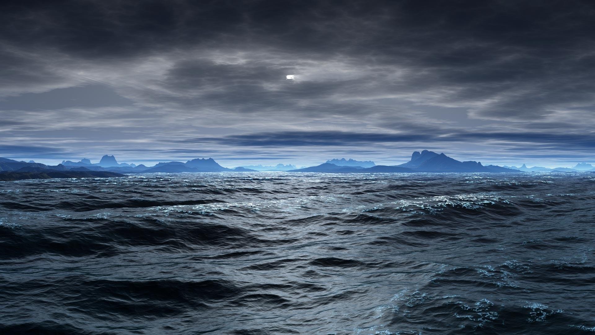 Earth Ocean Wallpaper