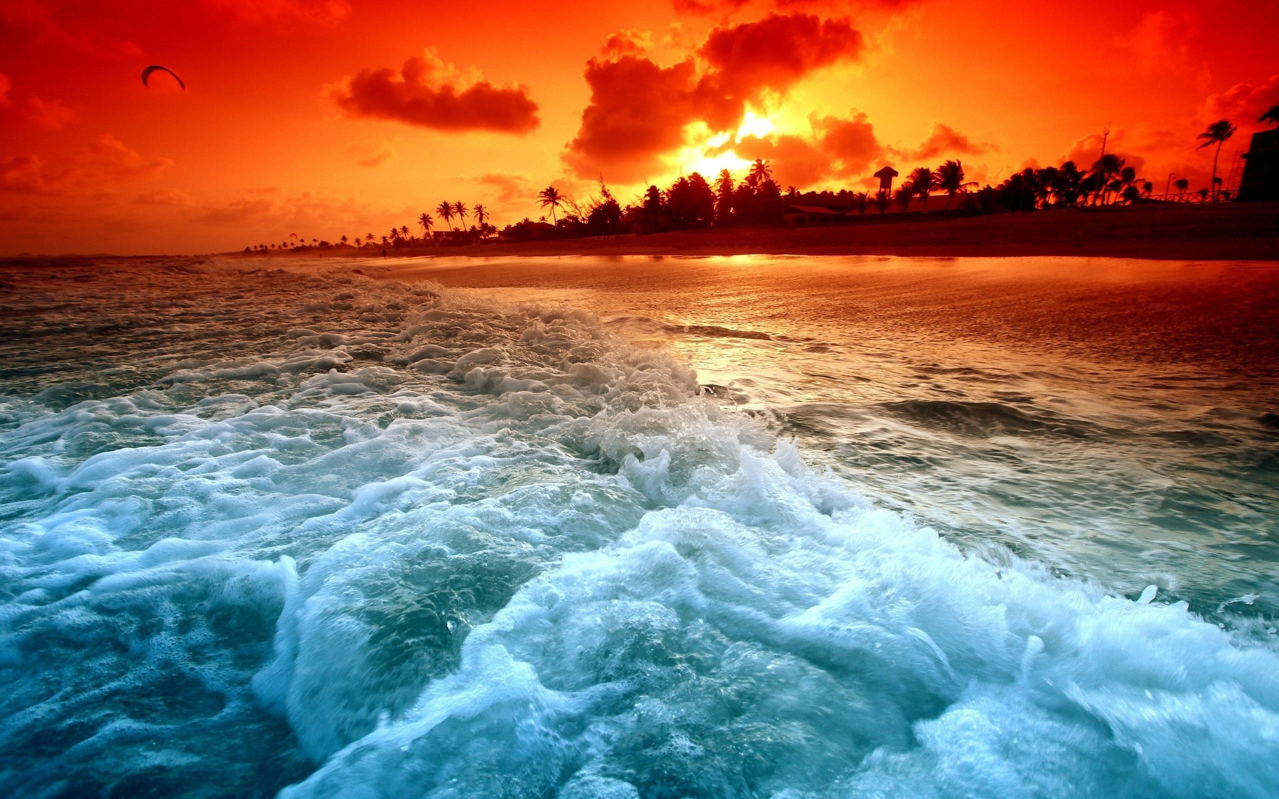 Ocean Sunset Wallpaper   HD Wallpapers Image