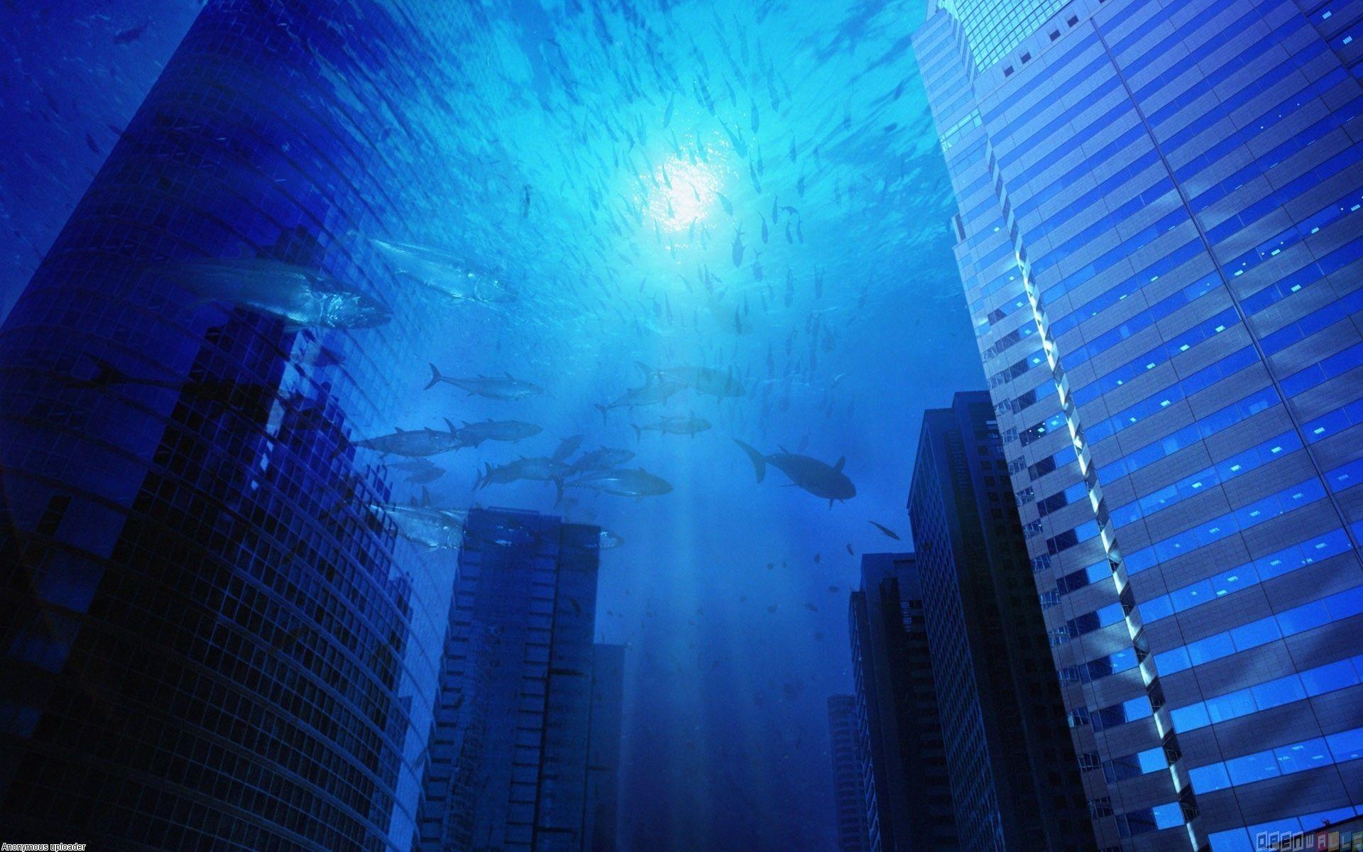 Under Ocean Wallpapers Desktop As Wallpaper HD