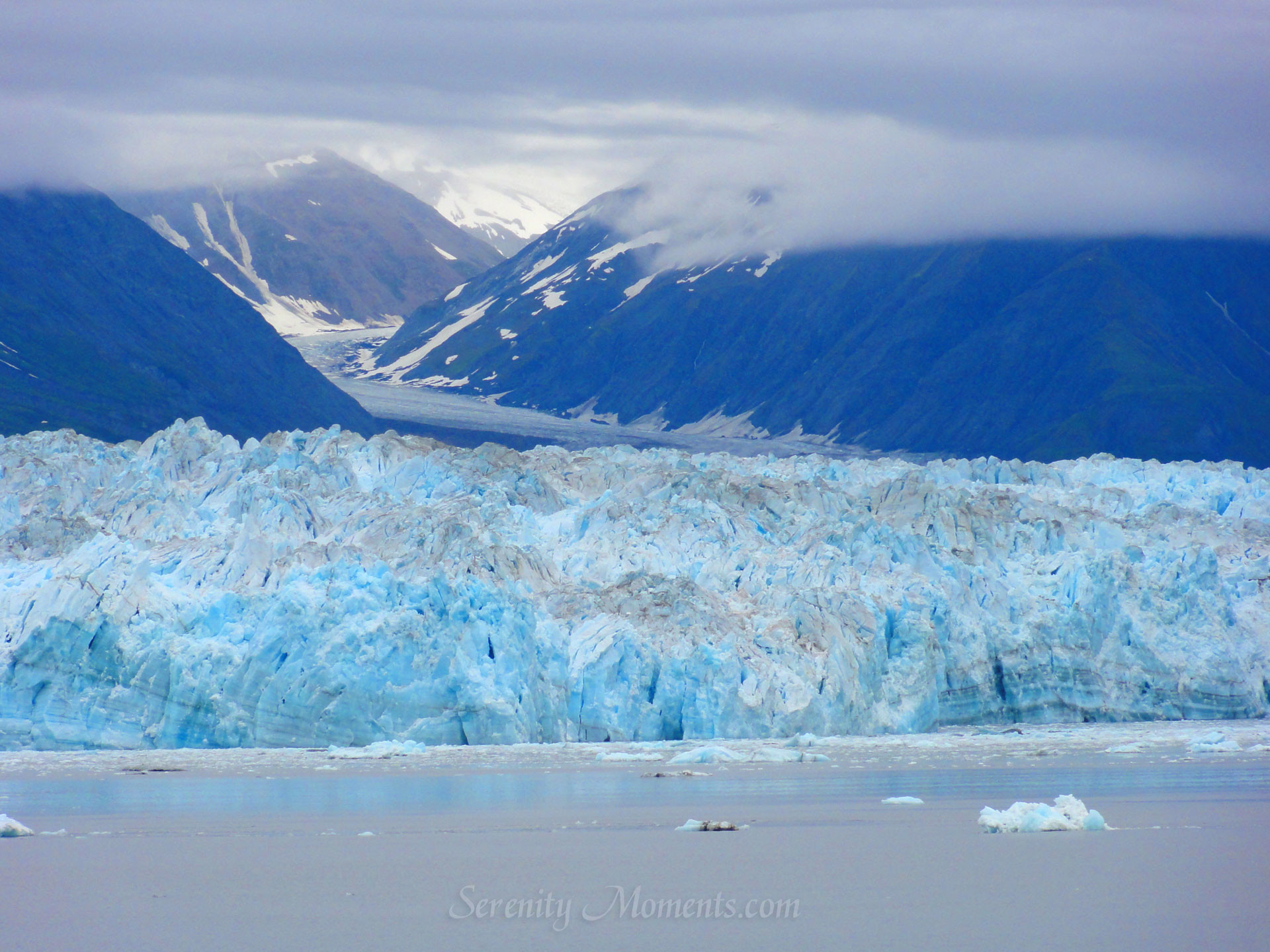 Hubbard Glacier, Alaska Screensaver
