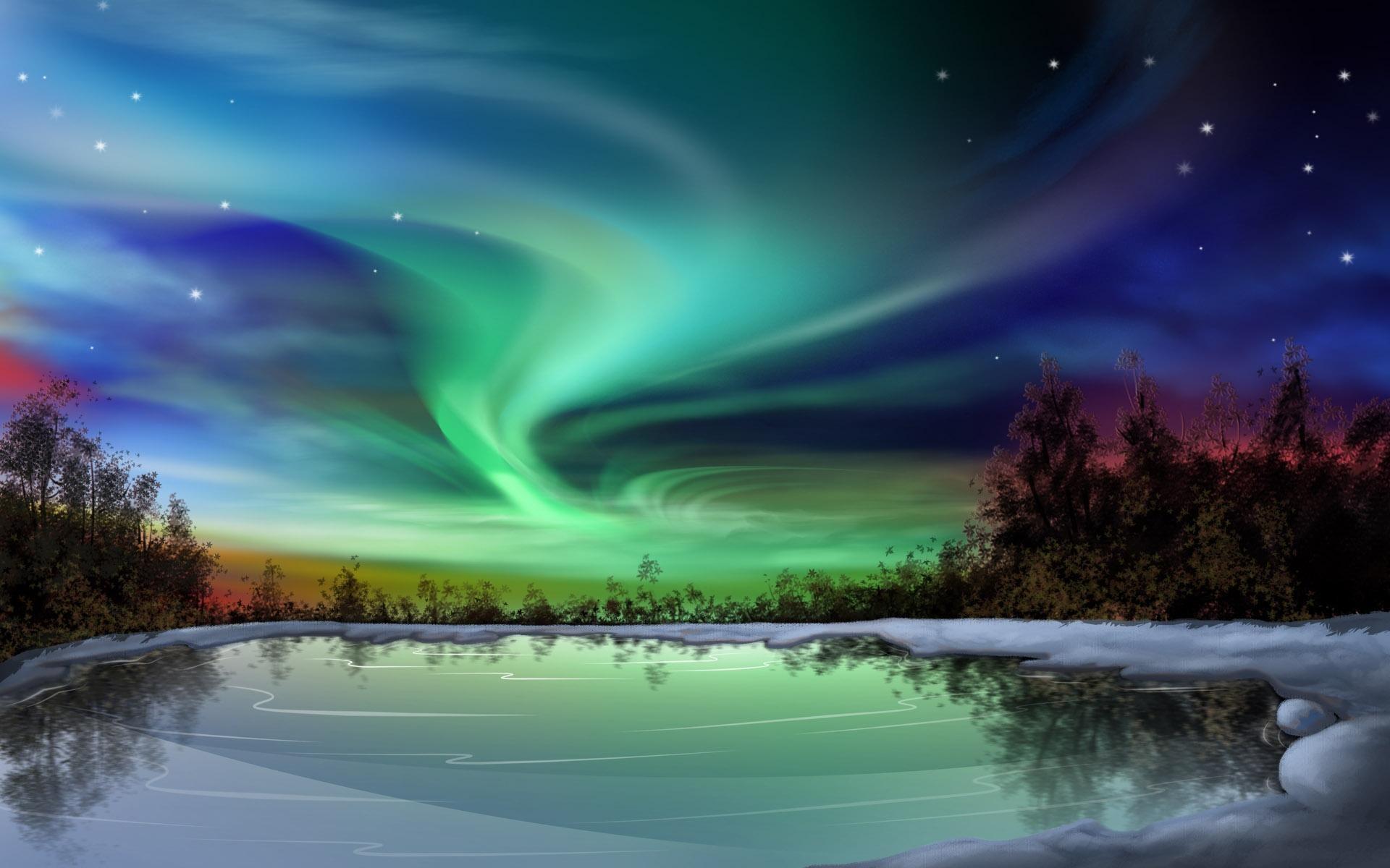 Northern Lights Alaska 30651 High Resolution   download all free jpeg