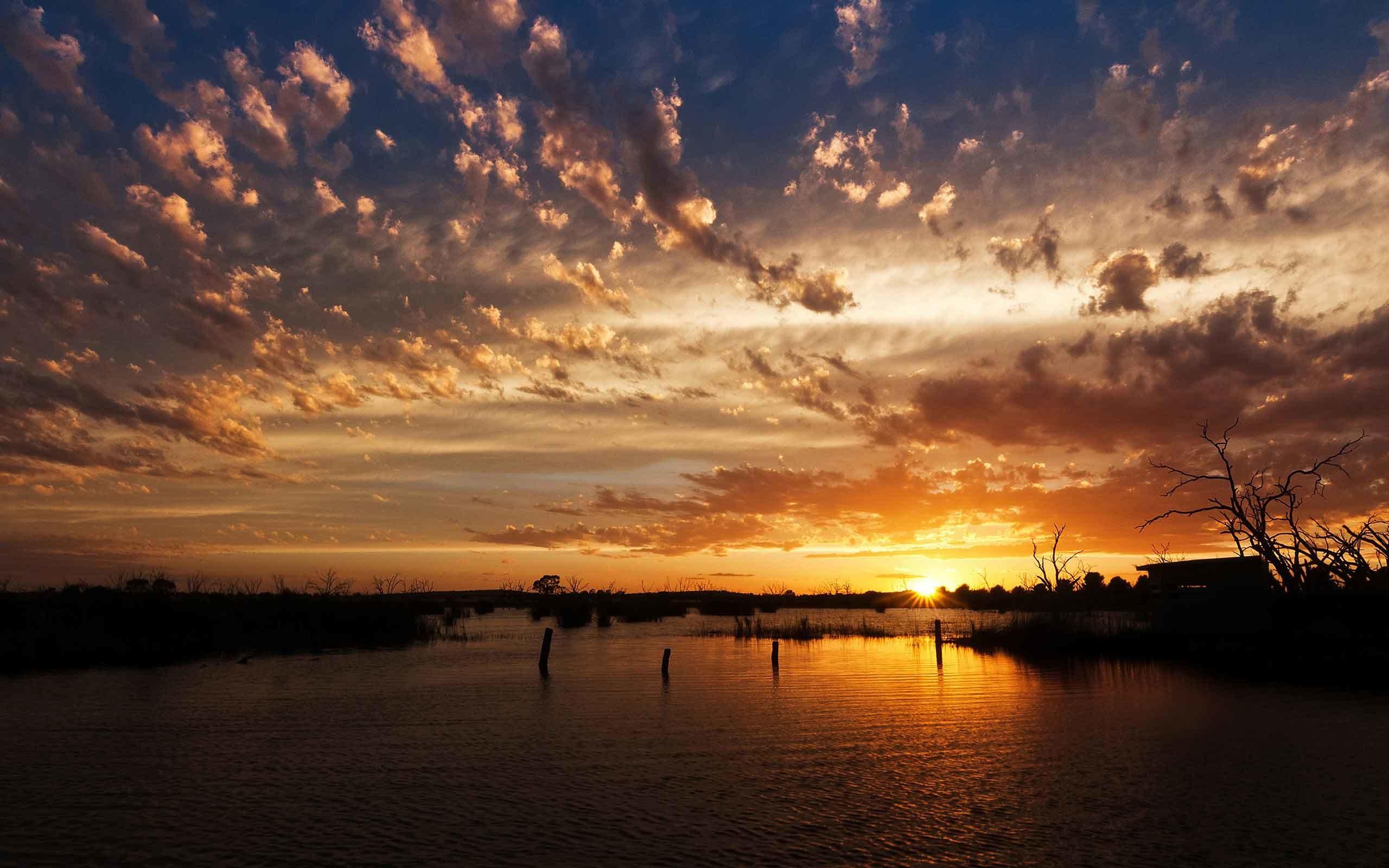 Sunrise Sunset Sunlight Nature Screensavers For Desktop Free Download