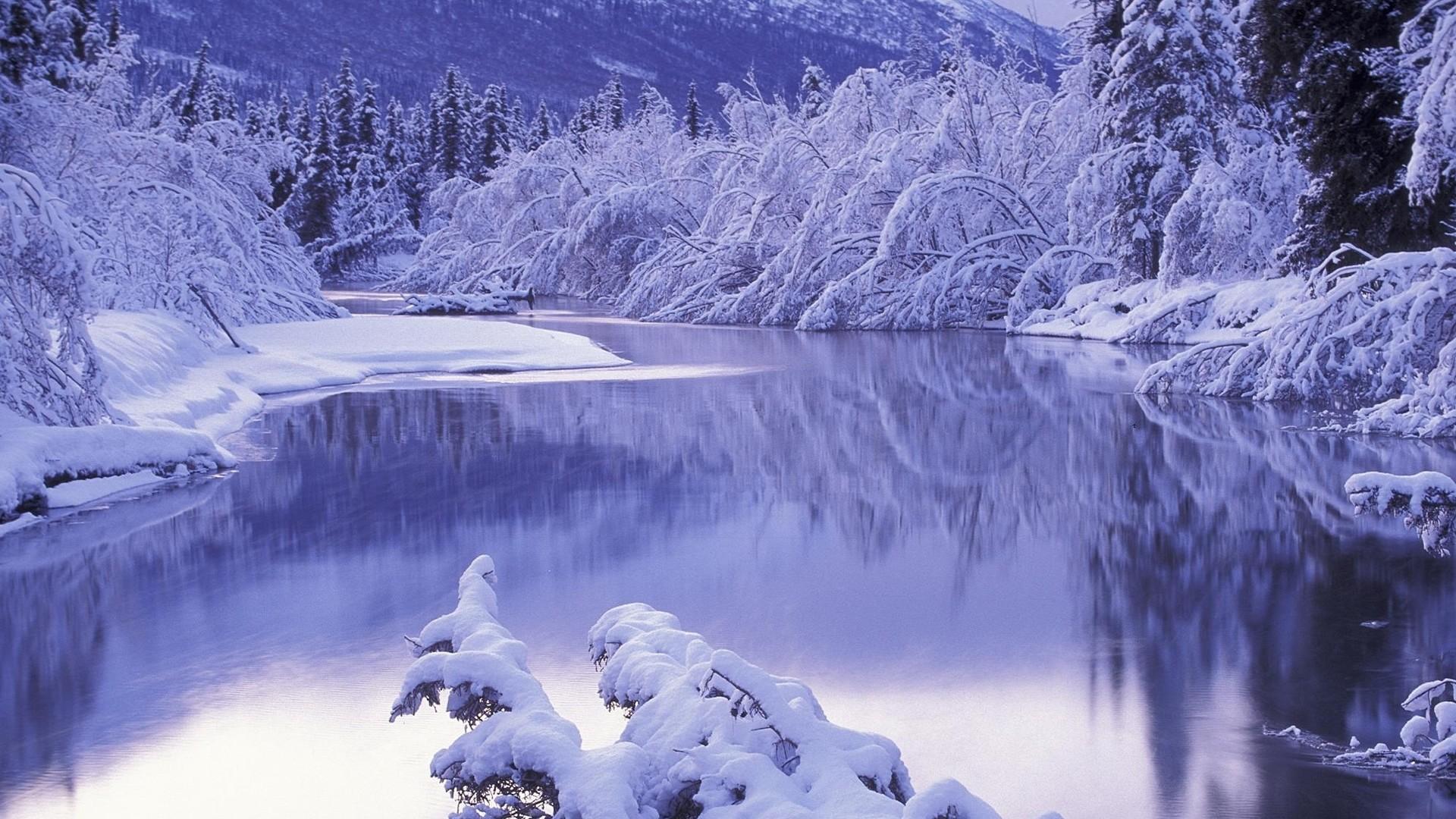 Preview wallpaper snow, white, winter, nature, scenery 1920×1080