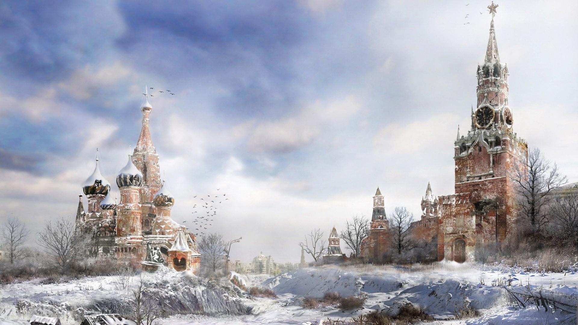metro 2033, moscow, winter