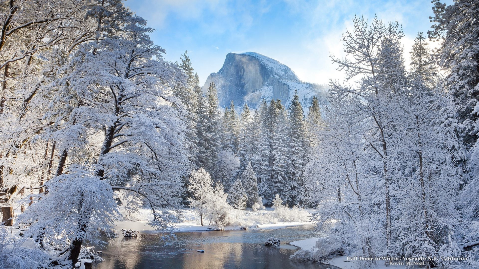 Winter – Yosemite Park Nature Winter Snow National Trees Mountains Wallpaper  HD Ipad for HD 16