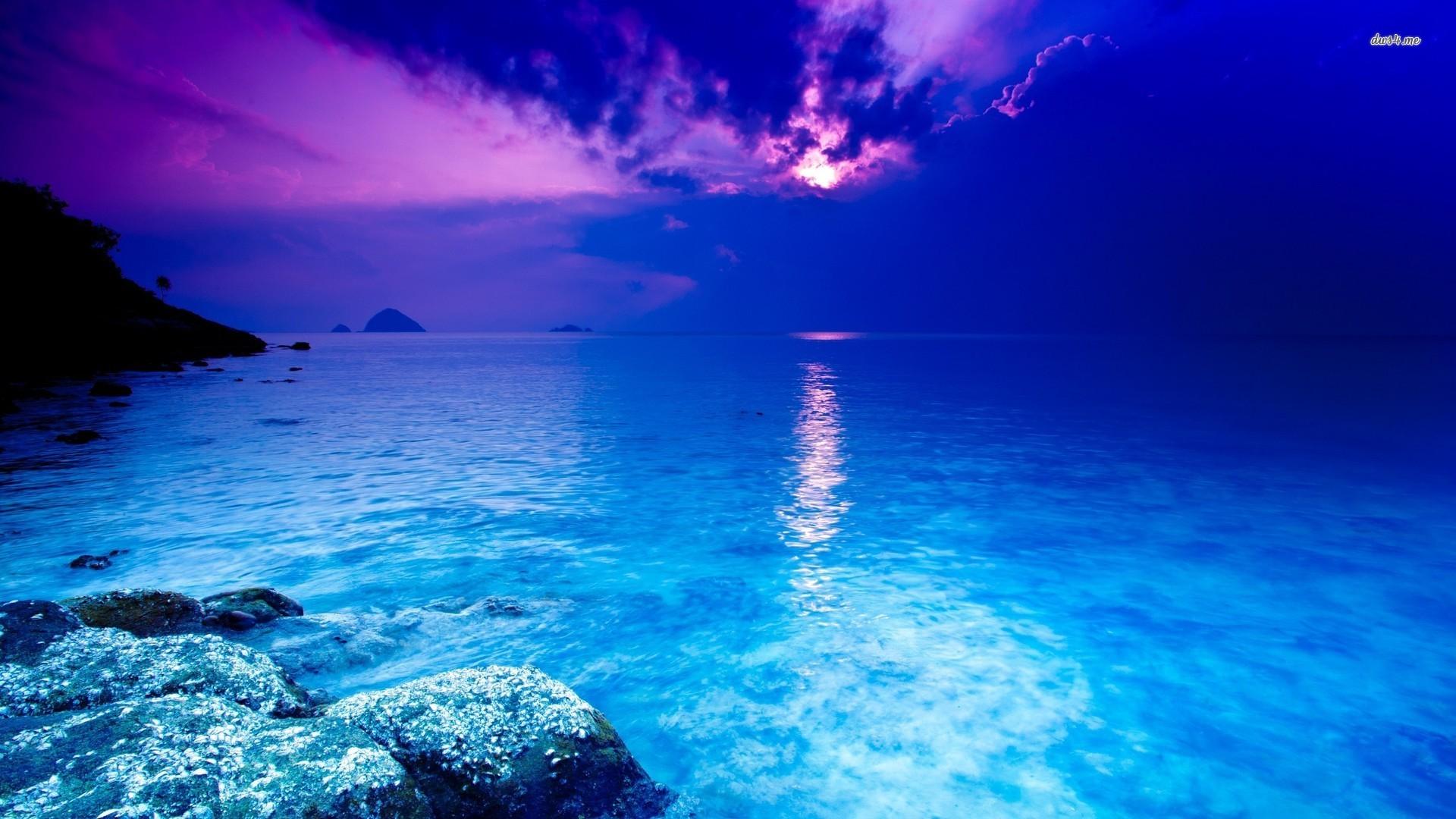 blue ocean wallpaper beach wallpapers