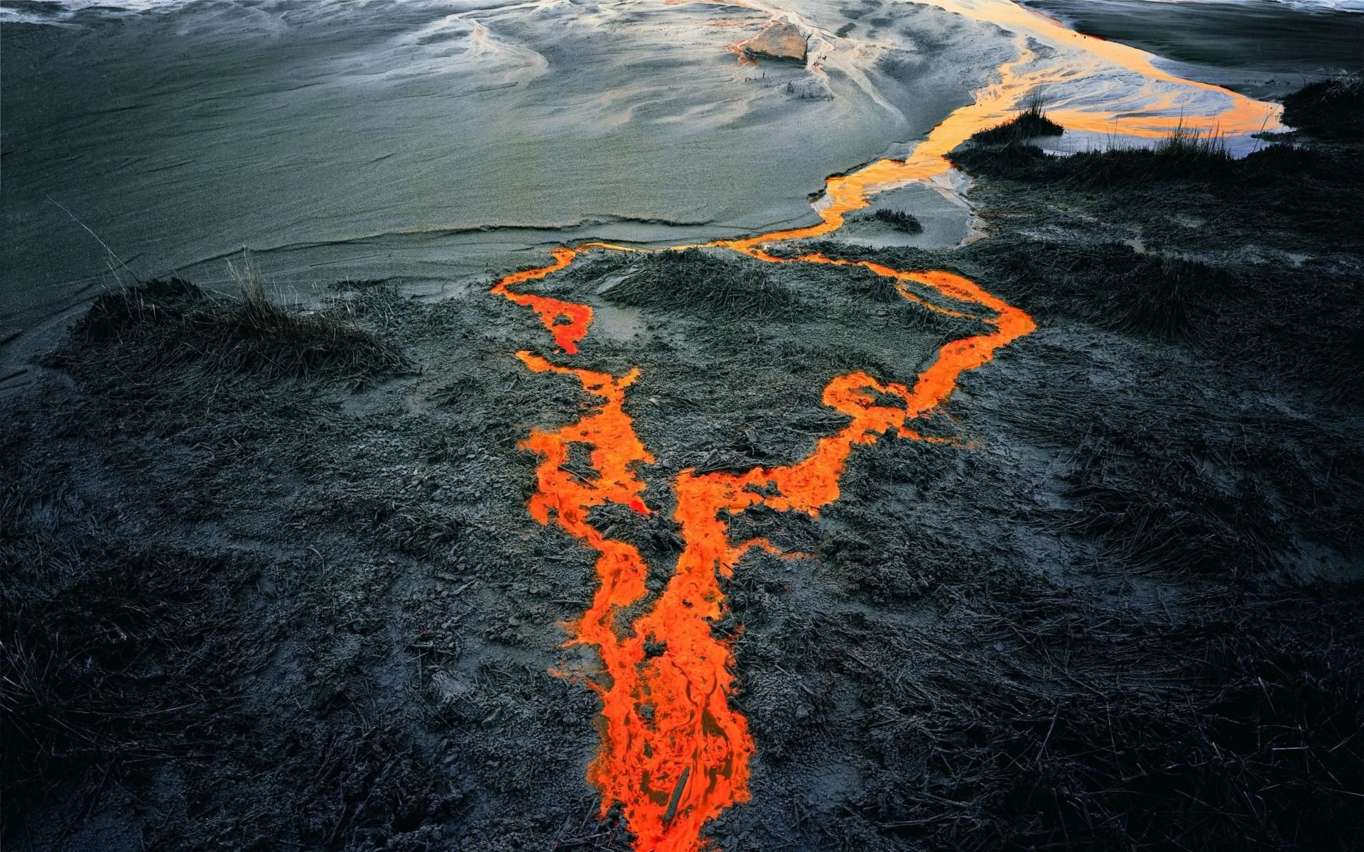 HD Volcano Wallpaper