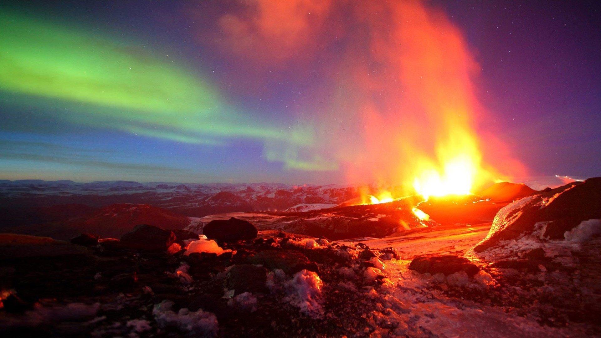 HD Wallpaper   Background ID:221097. Earth Volcano