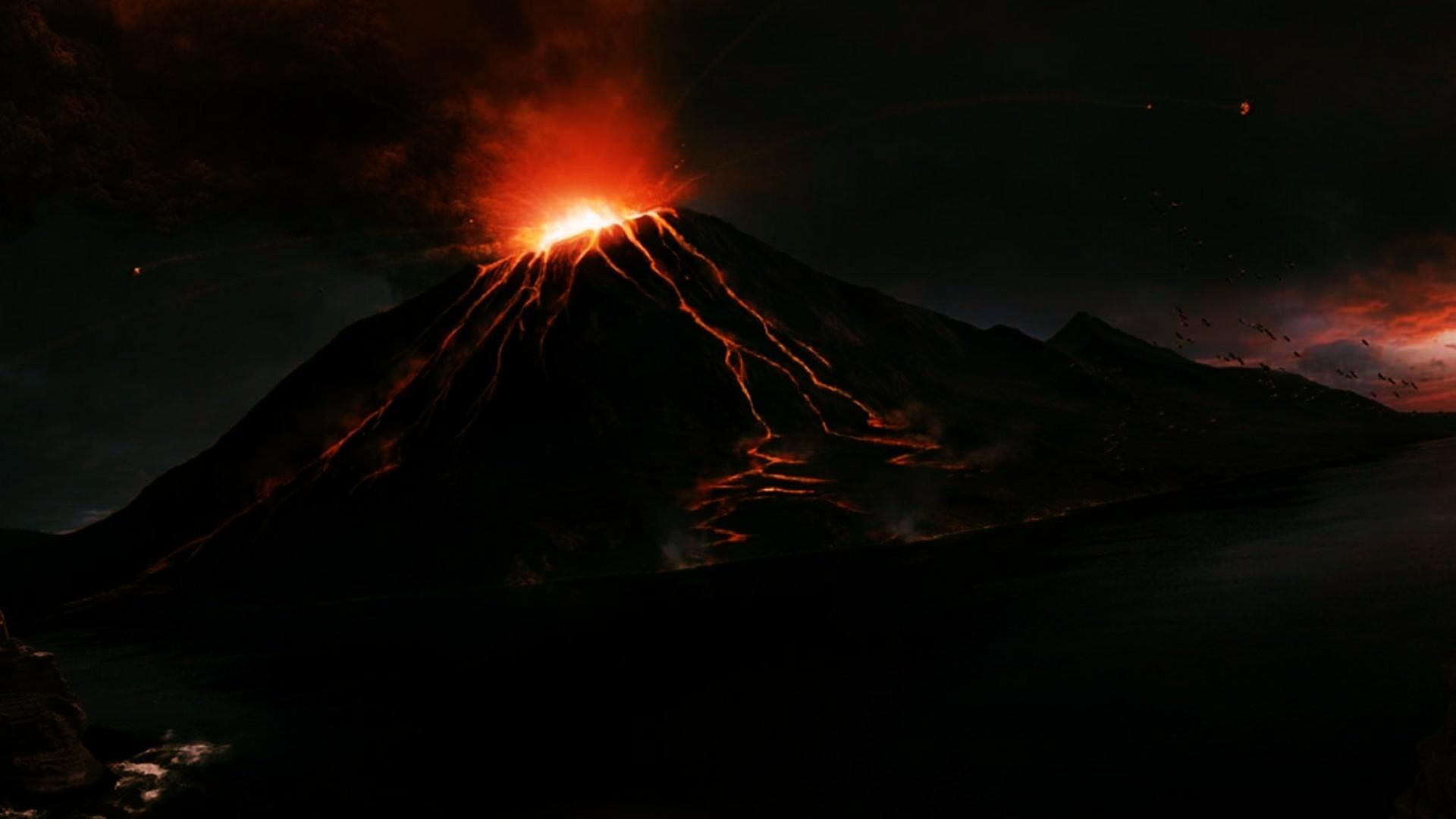 Mount Nyiragongo Night Volcano Wallpaper [1920×1080] Need #iPhone #6S #Plus  #