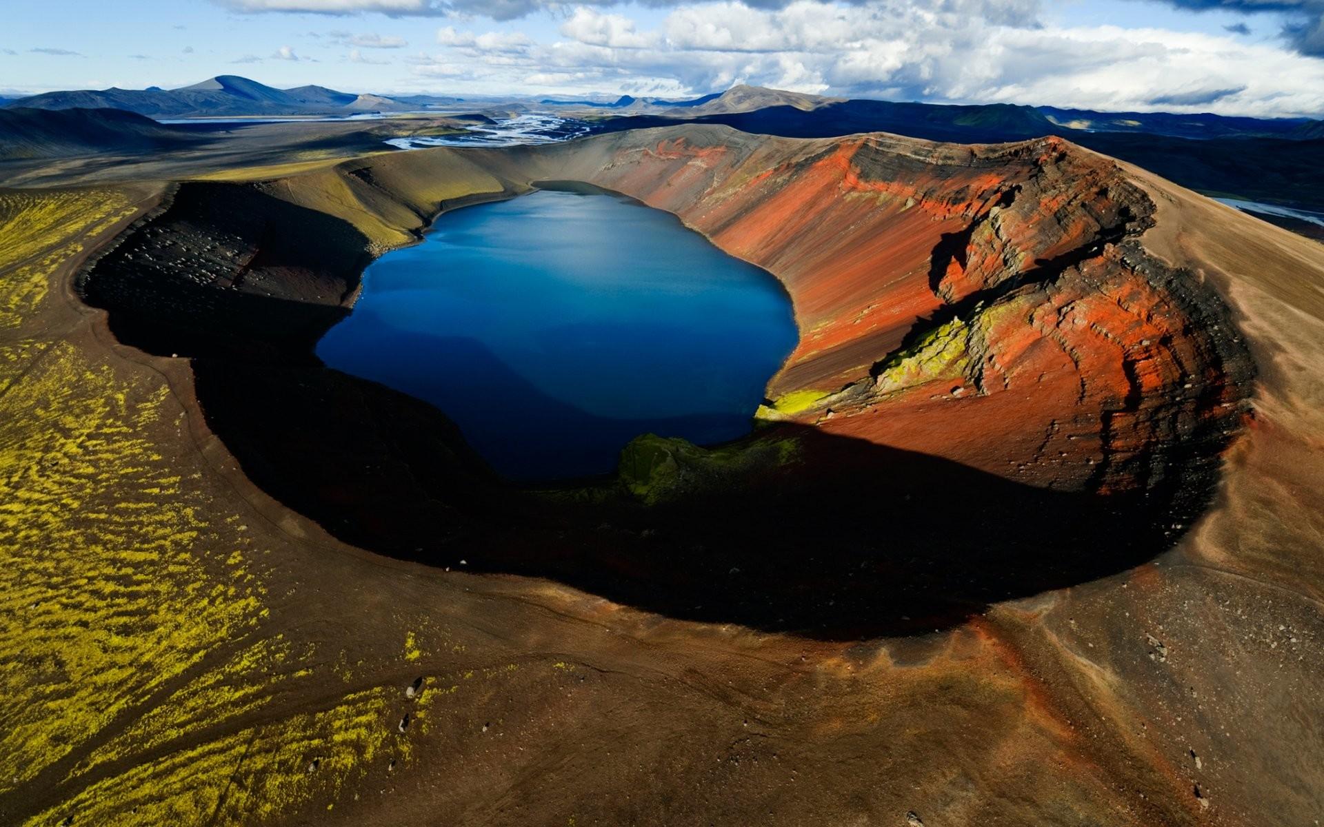 Earth – Volcano Wallpaper