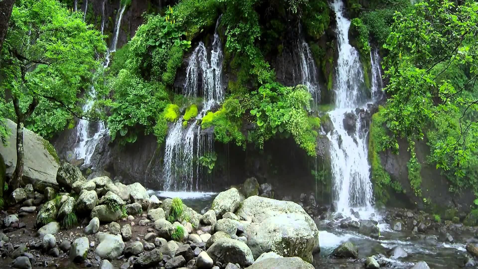 Waterfall 5 – Video Background HD 1080p