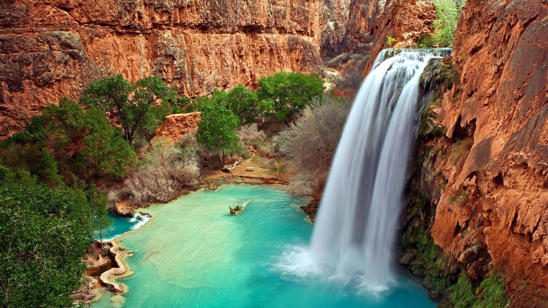 australian waterfall hd image