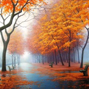 Fall Scenery Wallpaper for Computer